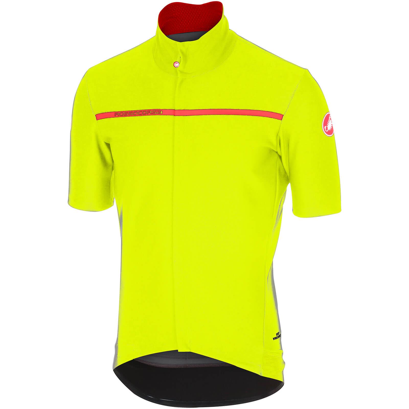 Castelli Gabba 3 Jersey - Yellow Fluo  490585eeb
