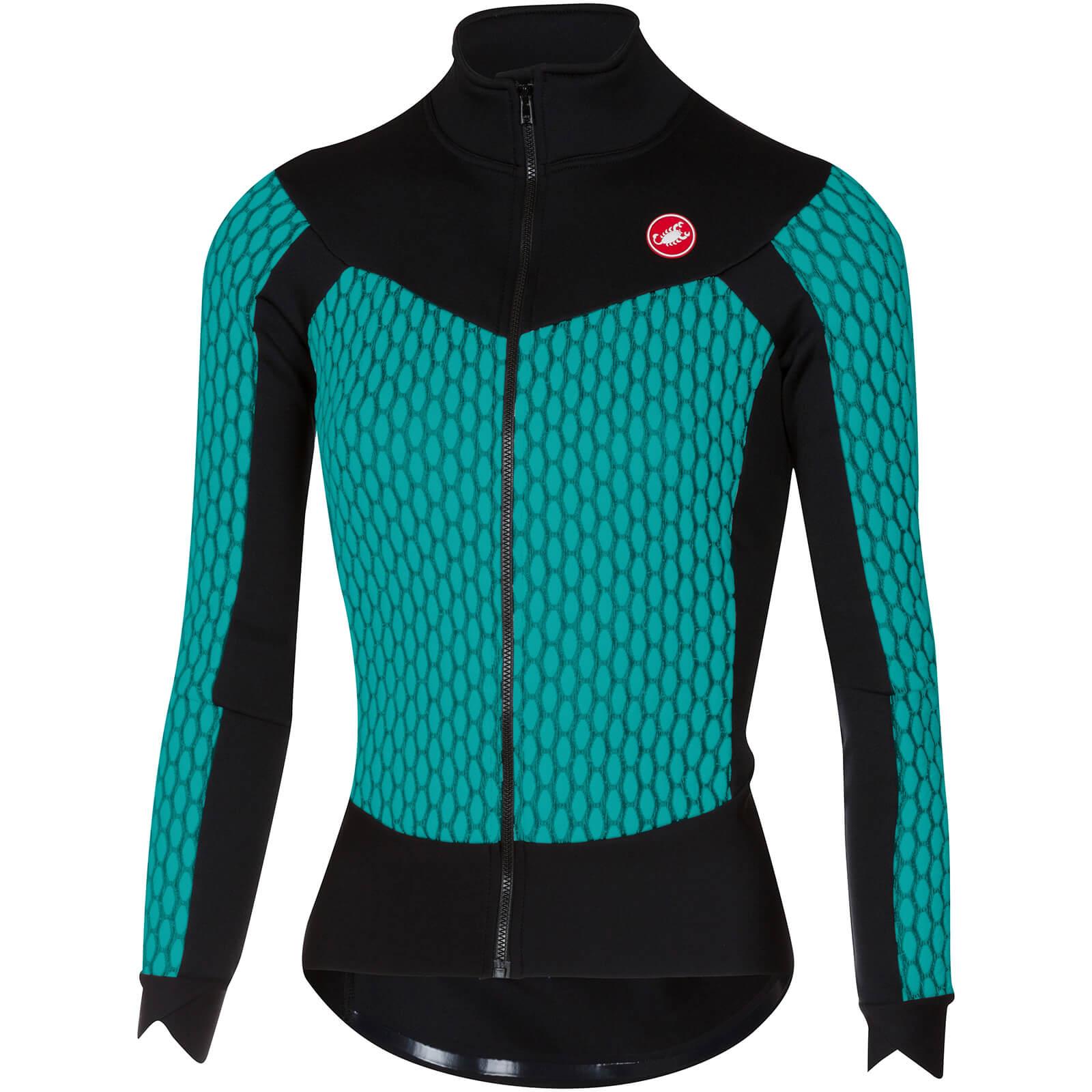 Castelli Women s Sfida Long Sleeve Jersey - Turquoise  559e9b2f3