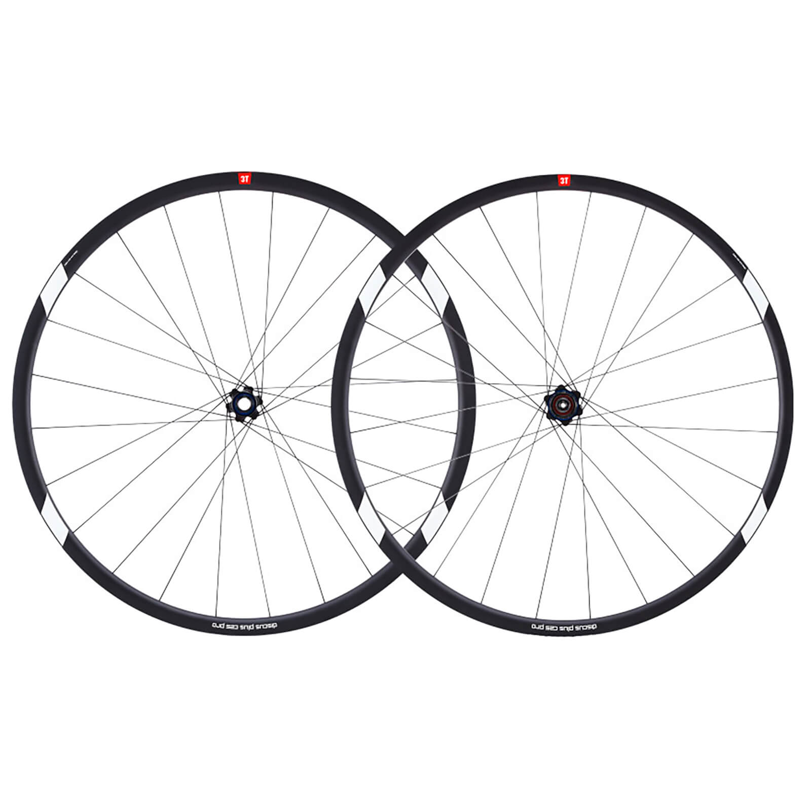 3T Discus Plus C25 Pro Set with WTB Tyres - 25mm - Black