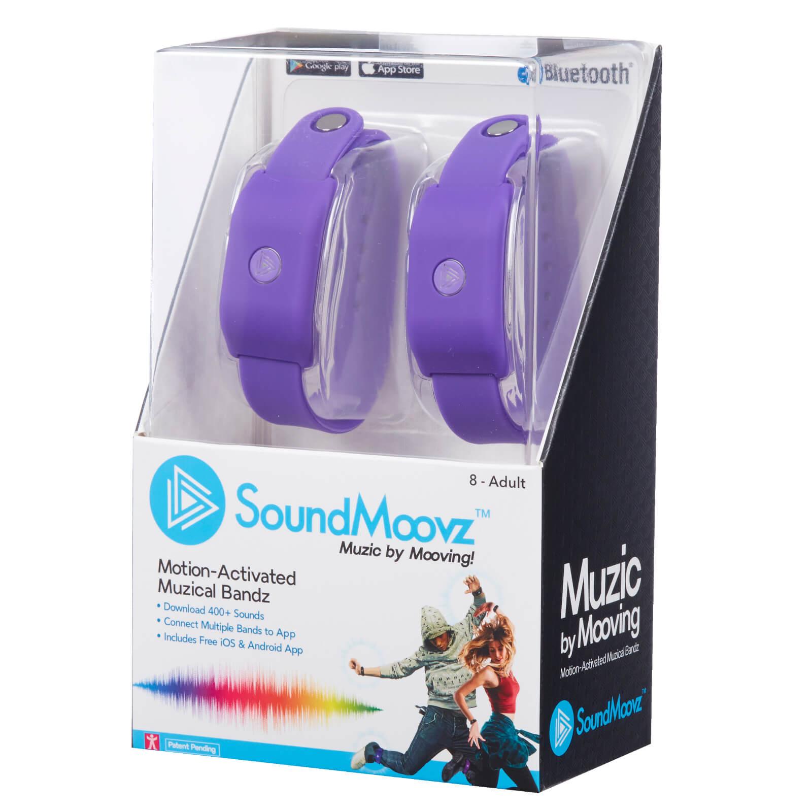 SoundMoovz Musical Bandz - Purple