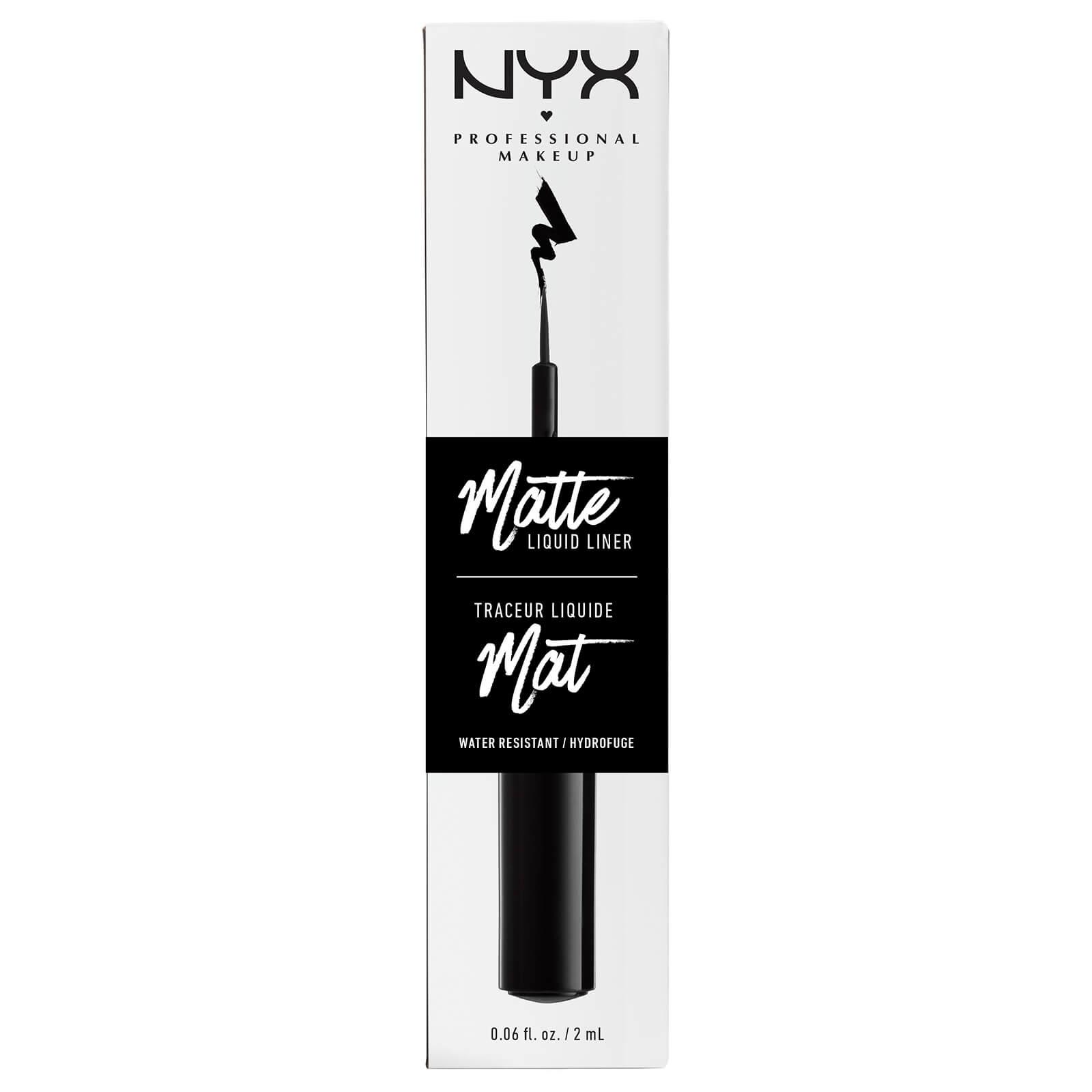 NYX Professional Makeup Matte Liquid Liner - Black
