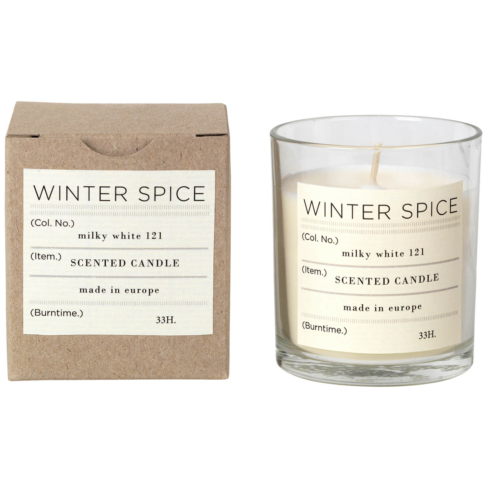 Broste Copenhagen Scented Candle - Winter