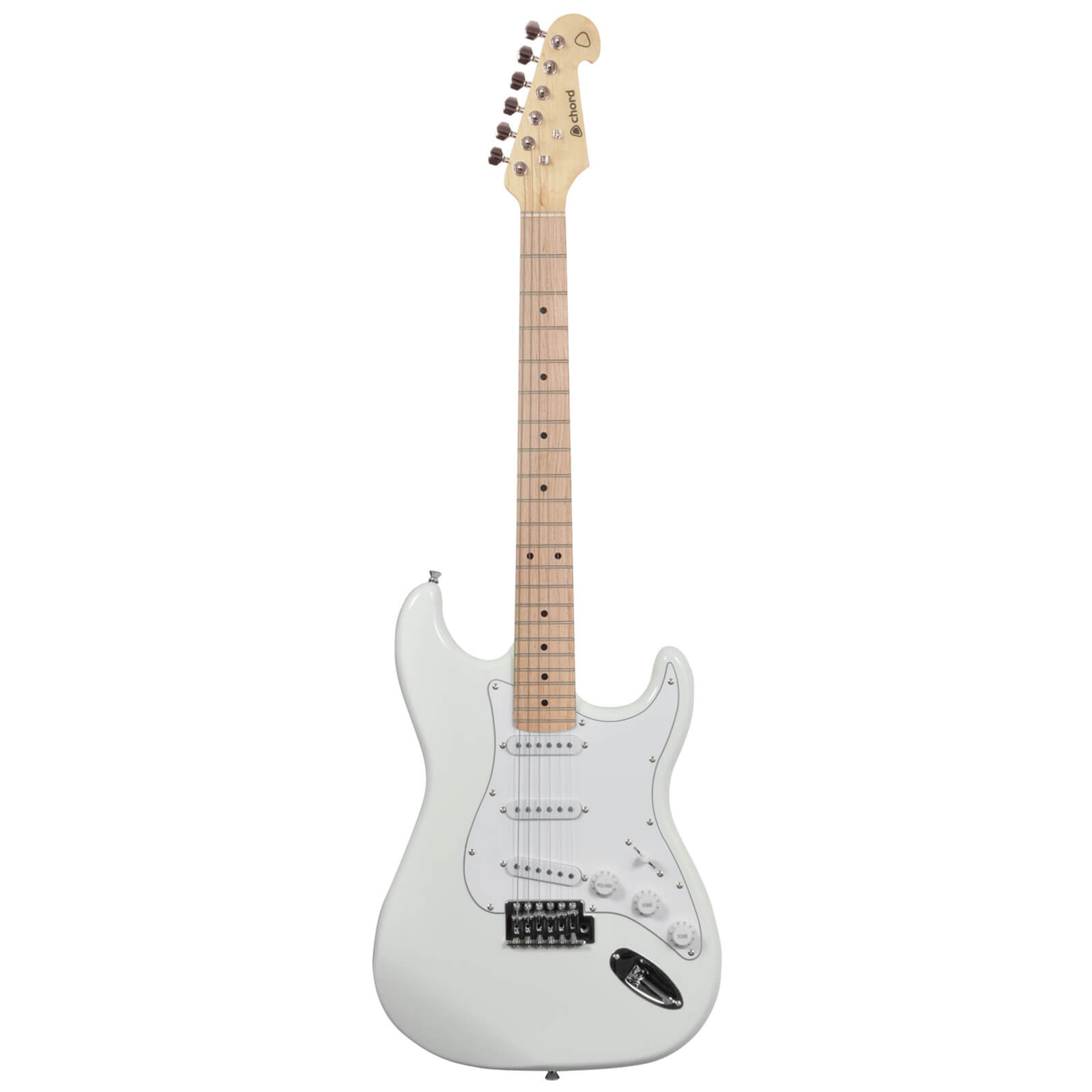 Chord CAL63M-ATW Electric Guitar with Maple Neck - Artic White