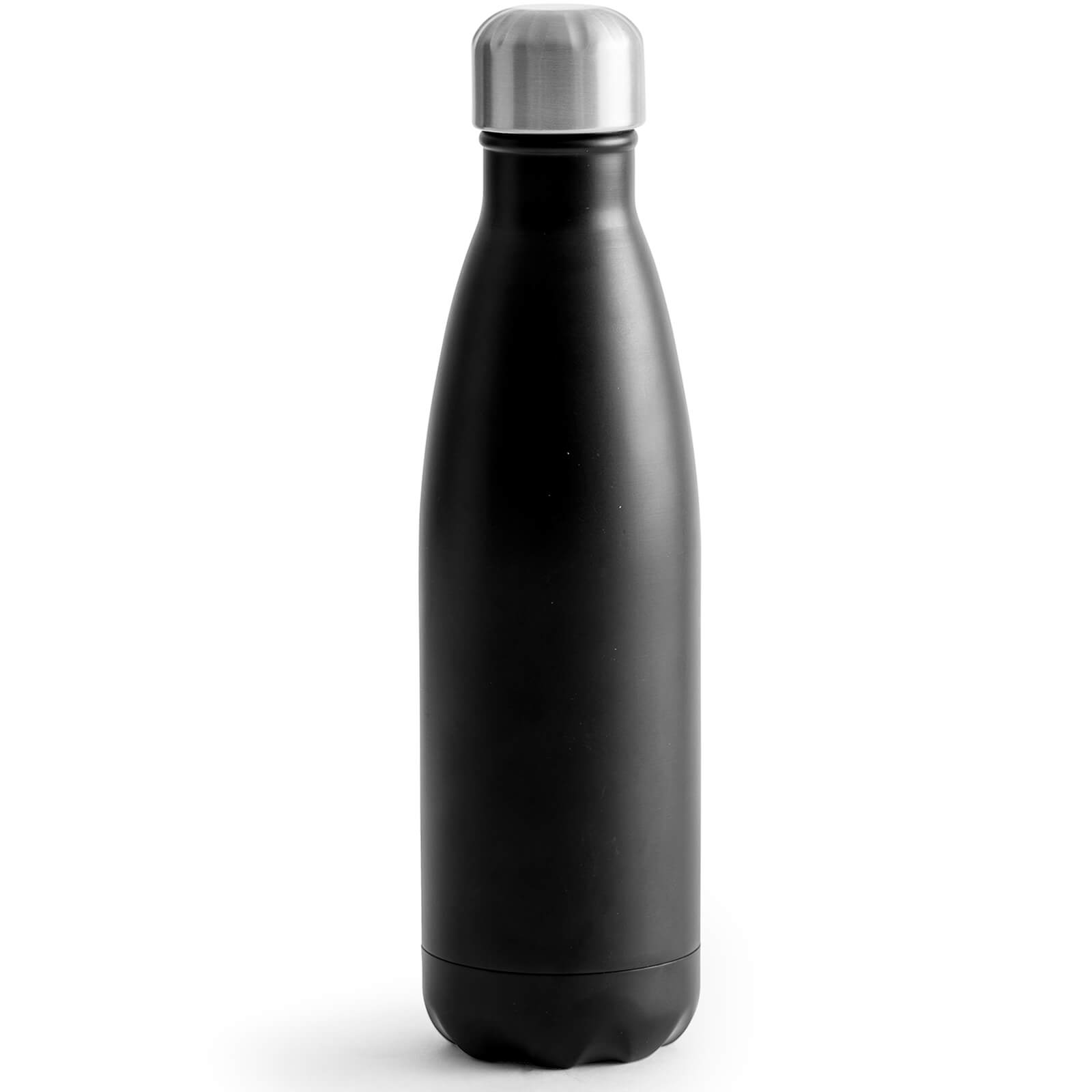 Sagaform Steel Hot and Cold Bottle - Black (50cl)