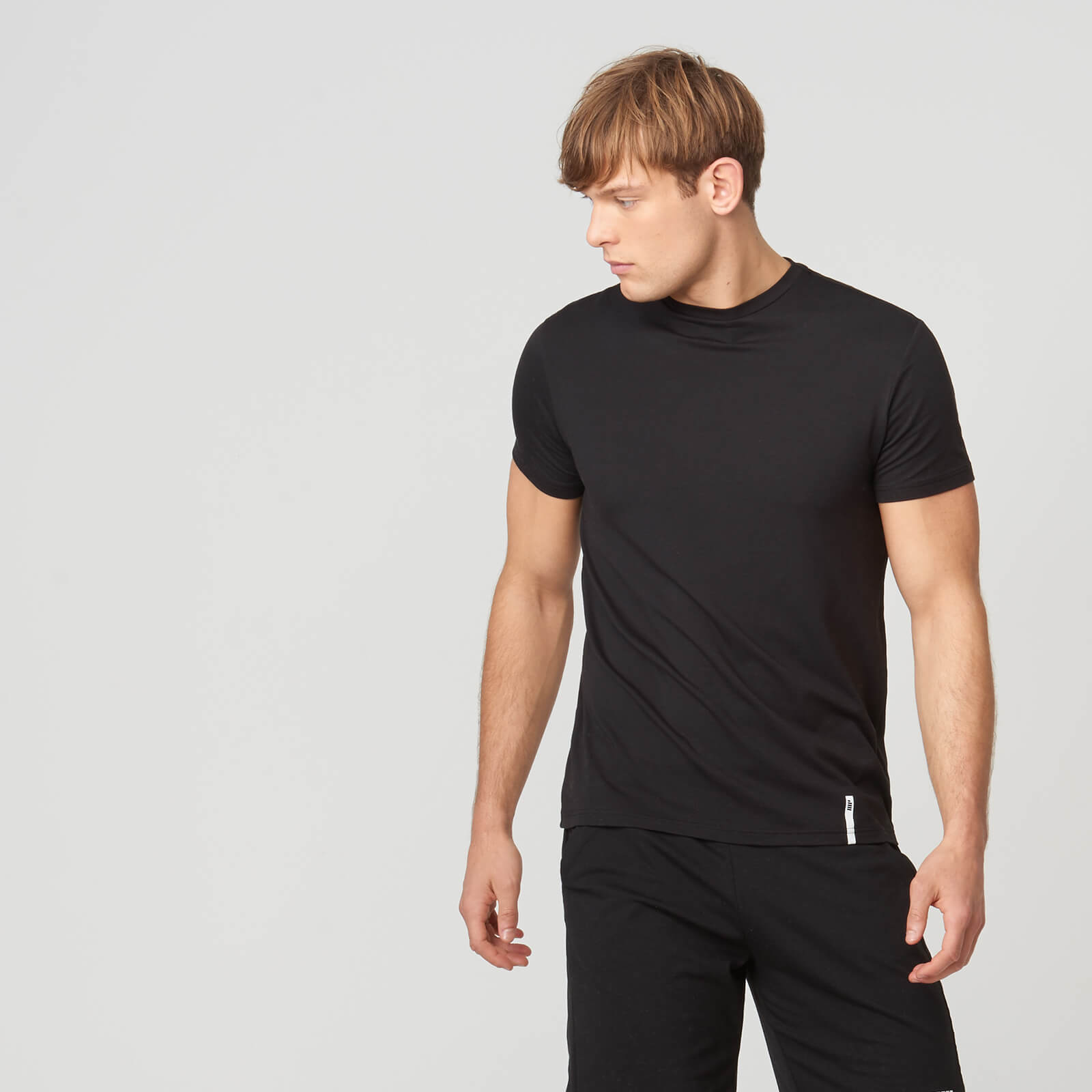Myprotein Luxe Classic Crew T-Shirt - Black - S