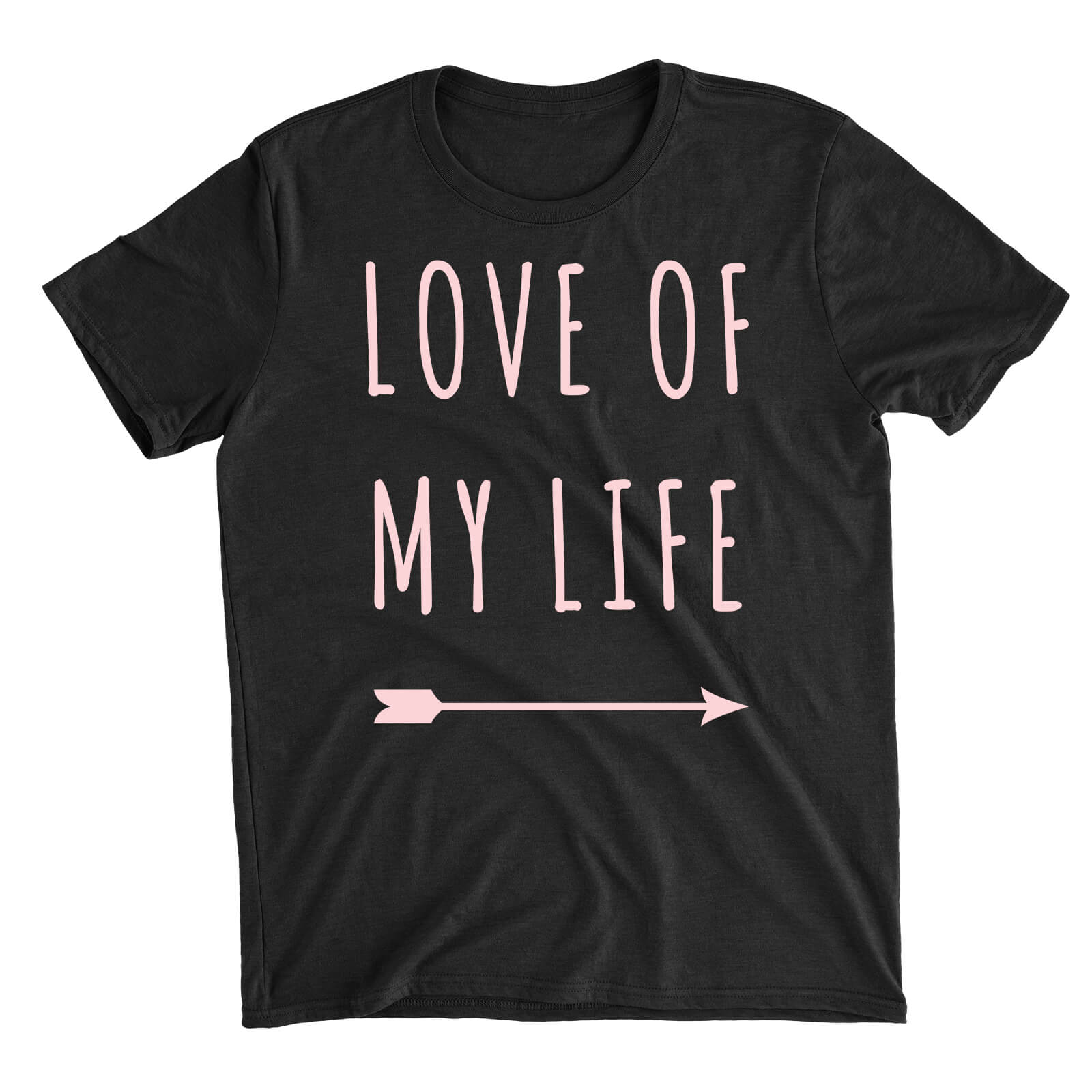 Love Of My Life Black T-Shirt
