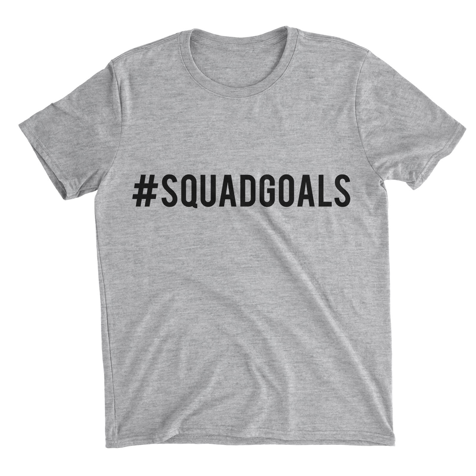 Squad Goals Grey T-Shirt