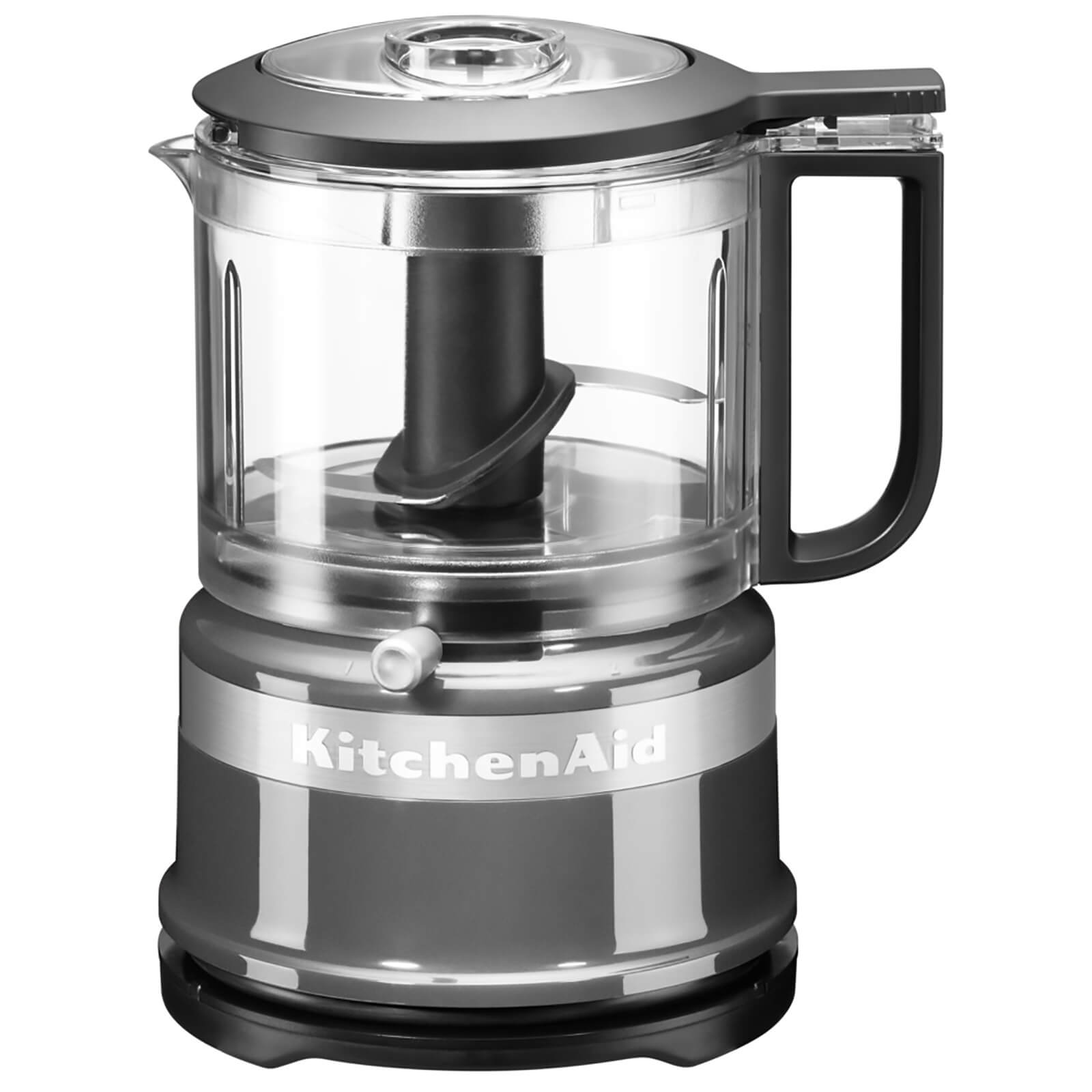 KitchenAid 5KFC3516BCU Mini Food Processor - Contour Silver