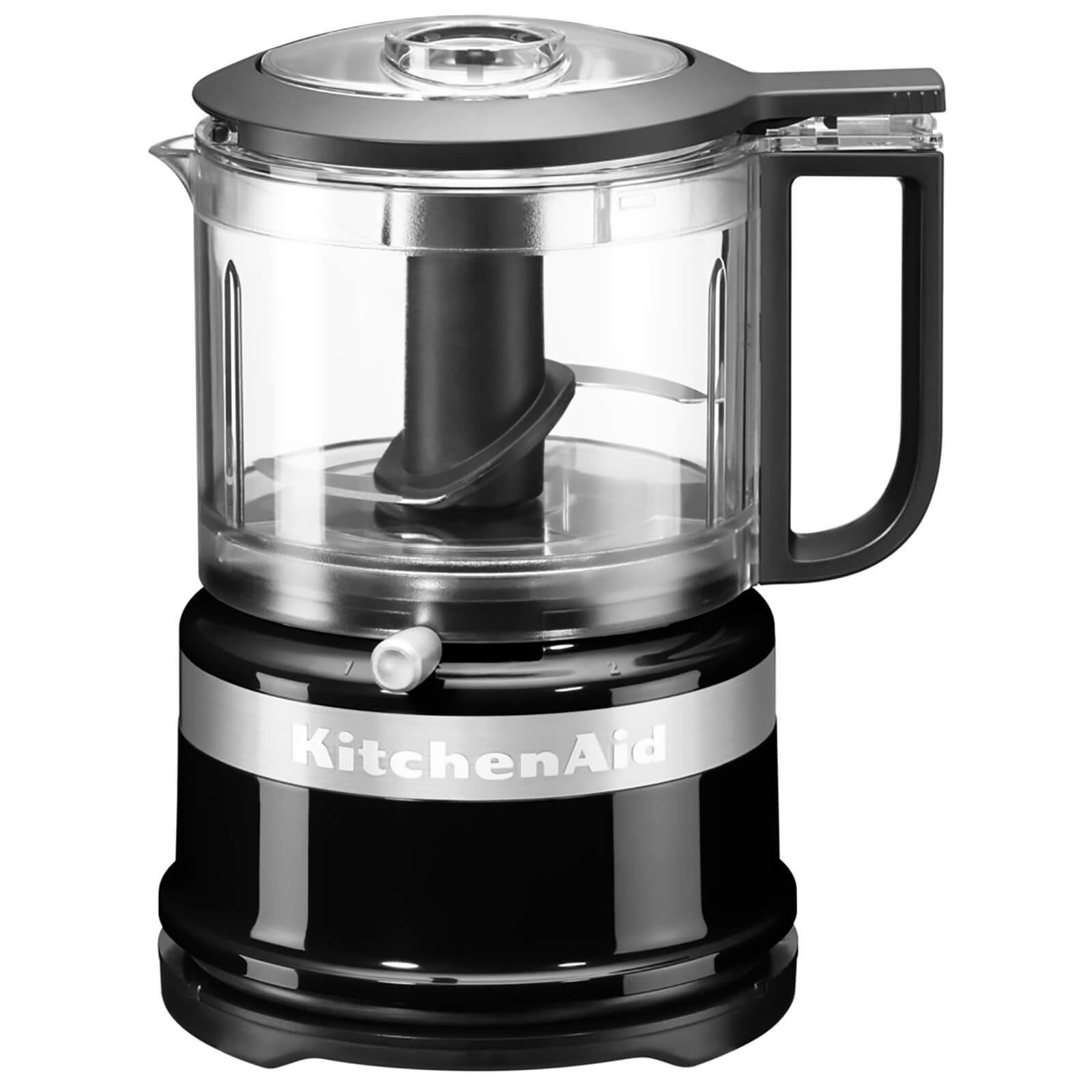 KitchenAid 5KFC3516BOB Mini Food Processor - Onyx Black