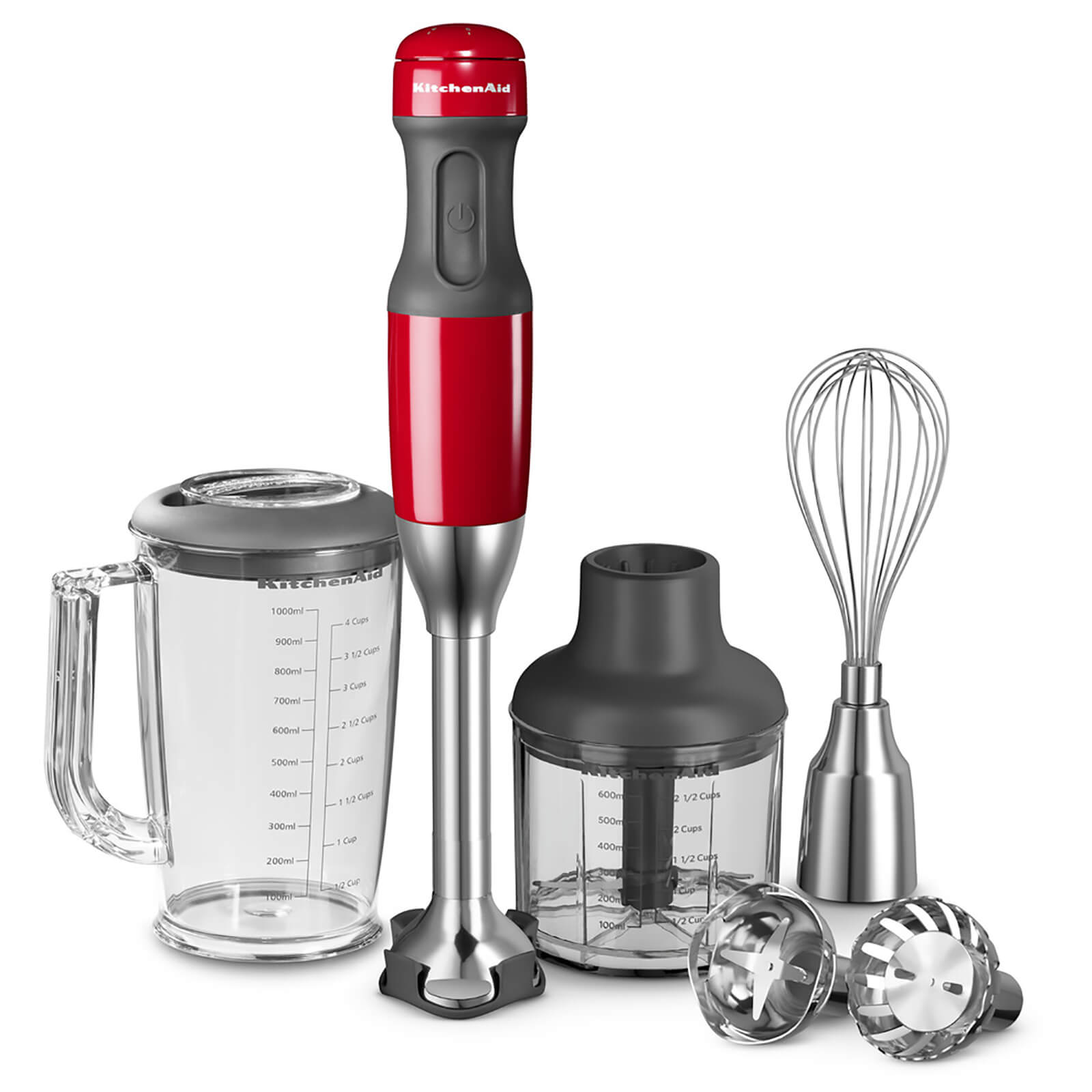 KitchenAid 5KHB2571BER Corded Hand Blender - Empire Red