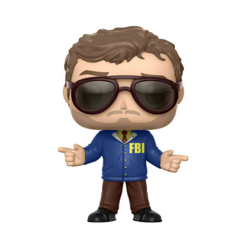 Parks and Recreation Burt Macklin EXC Pop! Vinyl Figure