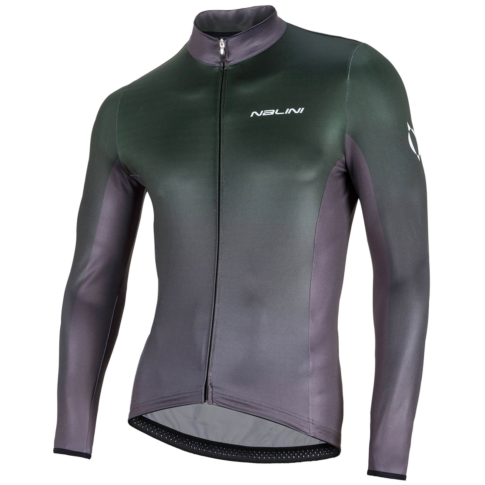 Nalini Mizar Long Sleeve Jersey - Green/Black