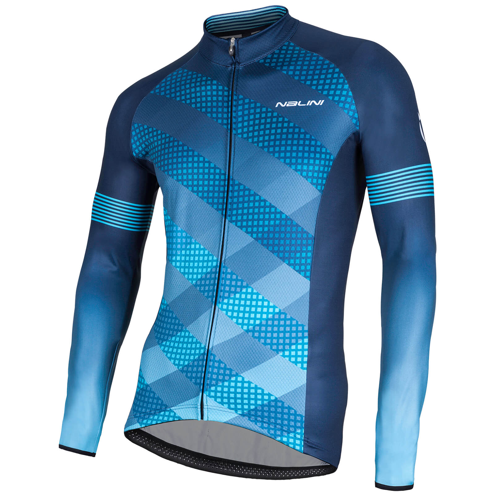 Nalini Merak Long Sleeve Jersey - Blue