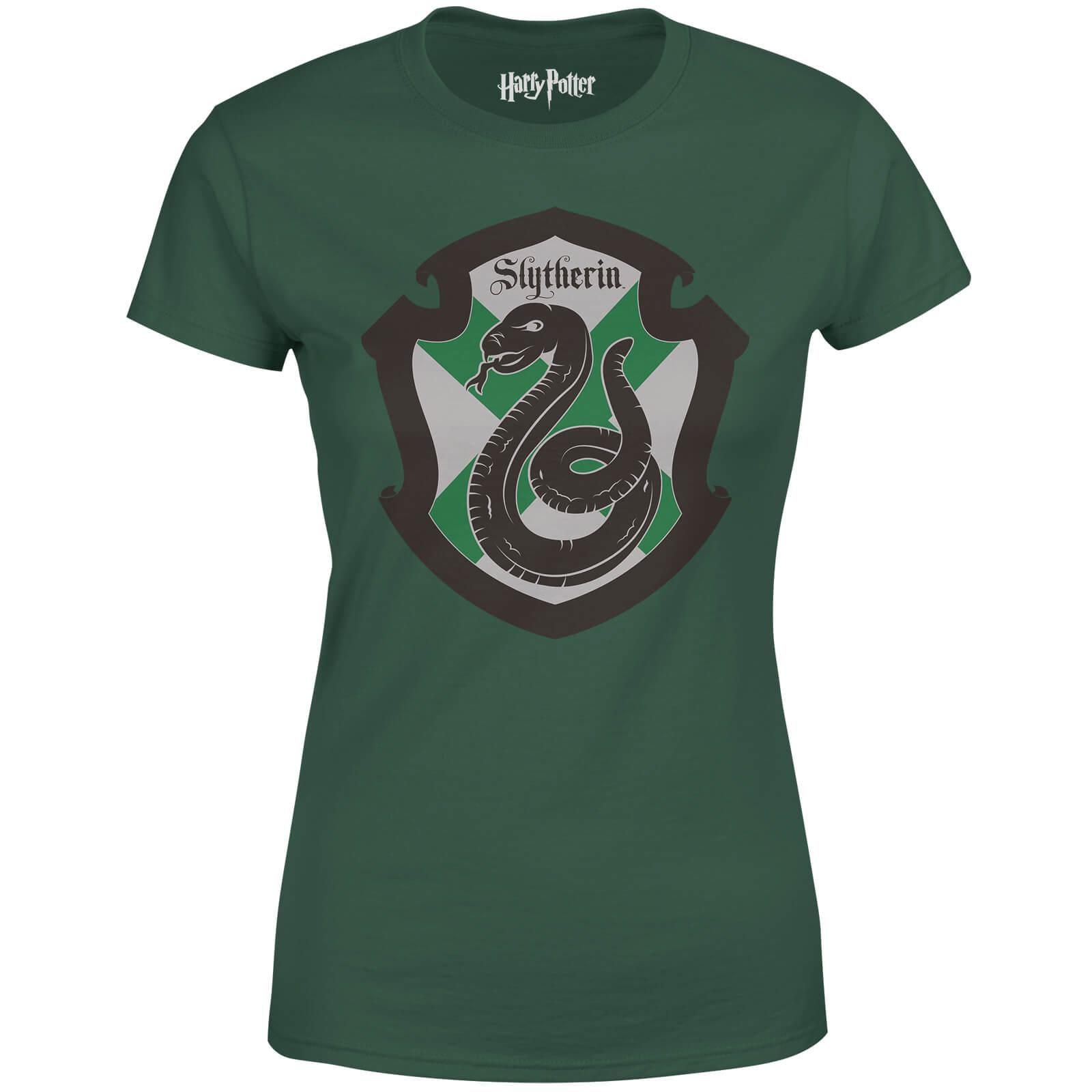 Harry Potter Slytherin House Green Women\'s T-Shirt   IWOOT