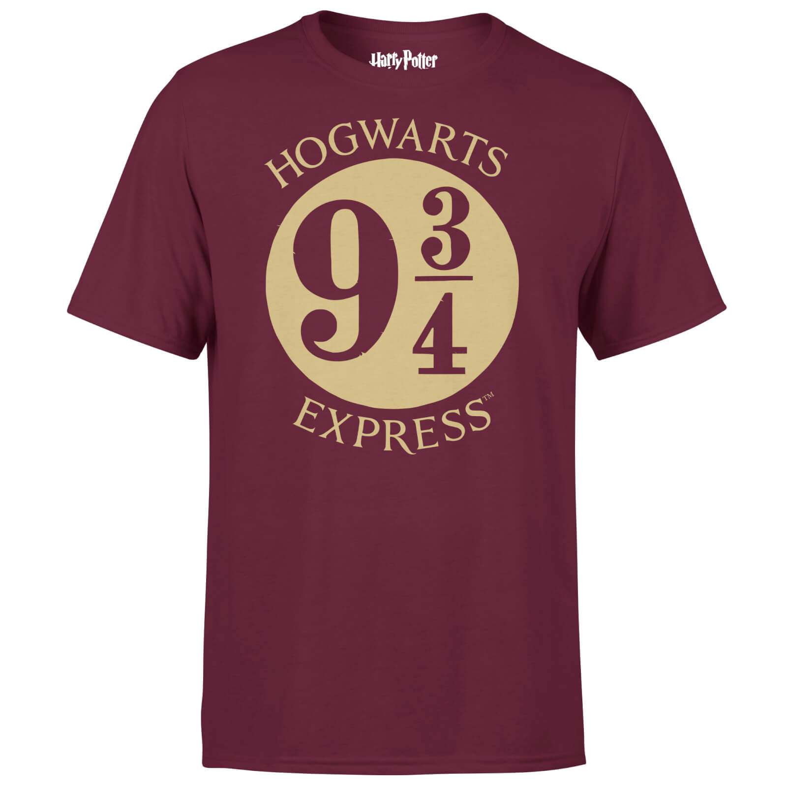 Harry Potter Platform Burgundy T-Shirt