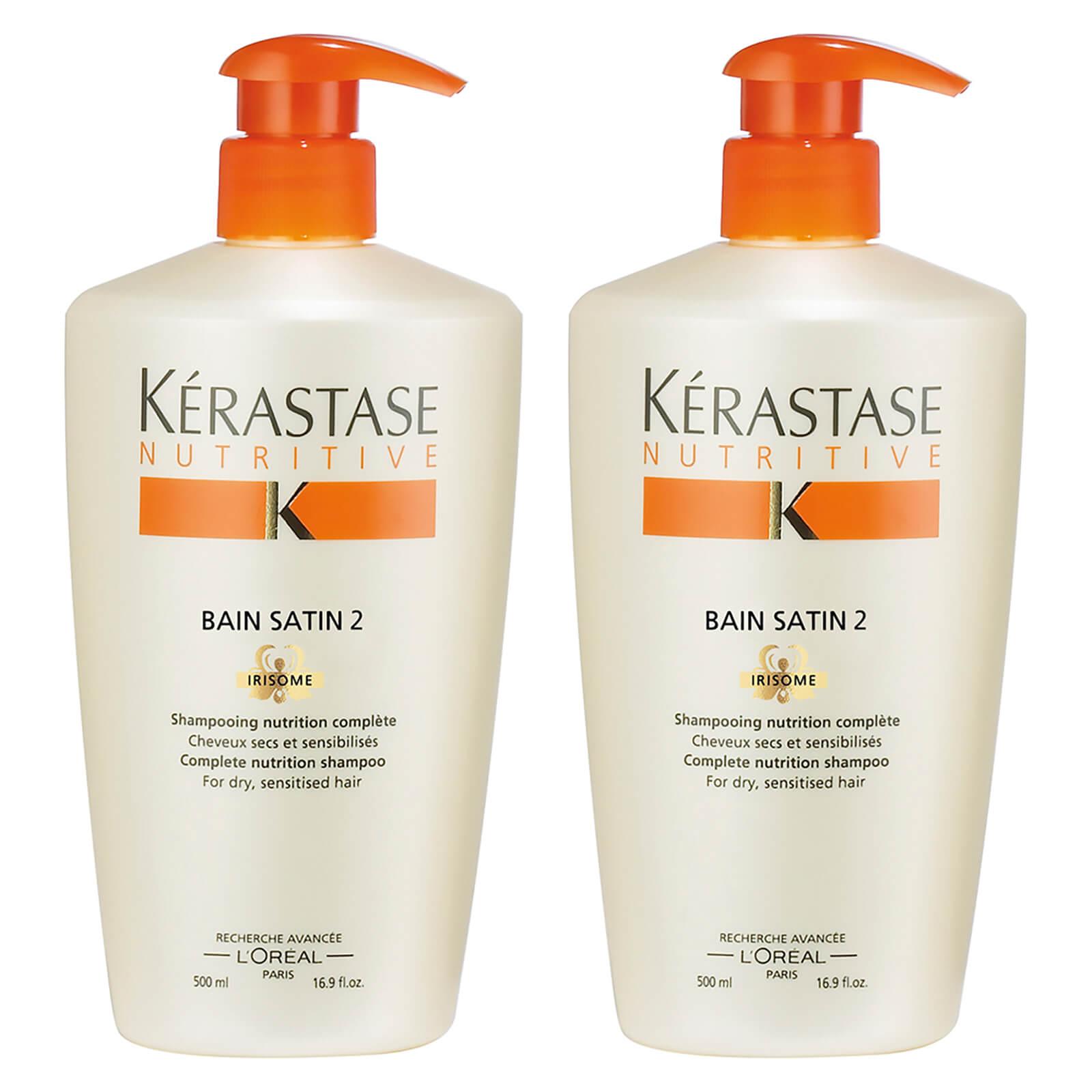 KÉRASTASE 卡诗 滋养洗发水2号 500ml*2瓶 优惠码折后£36.71约¥312