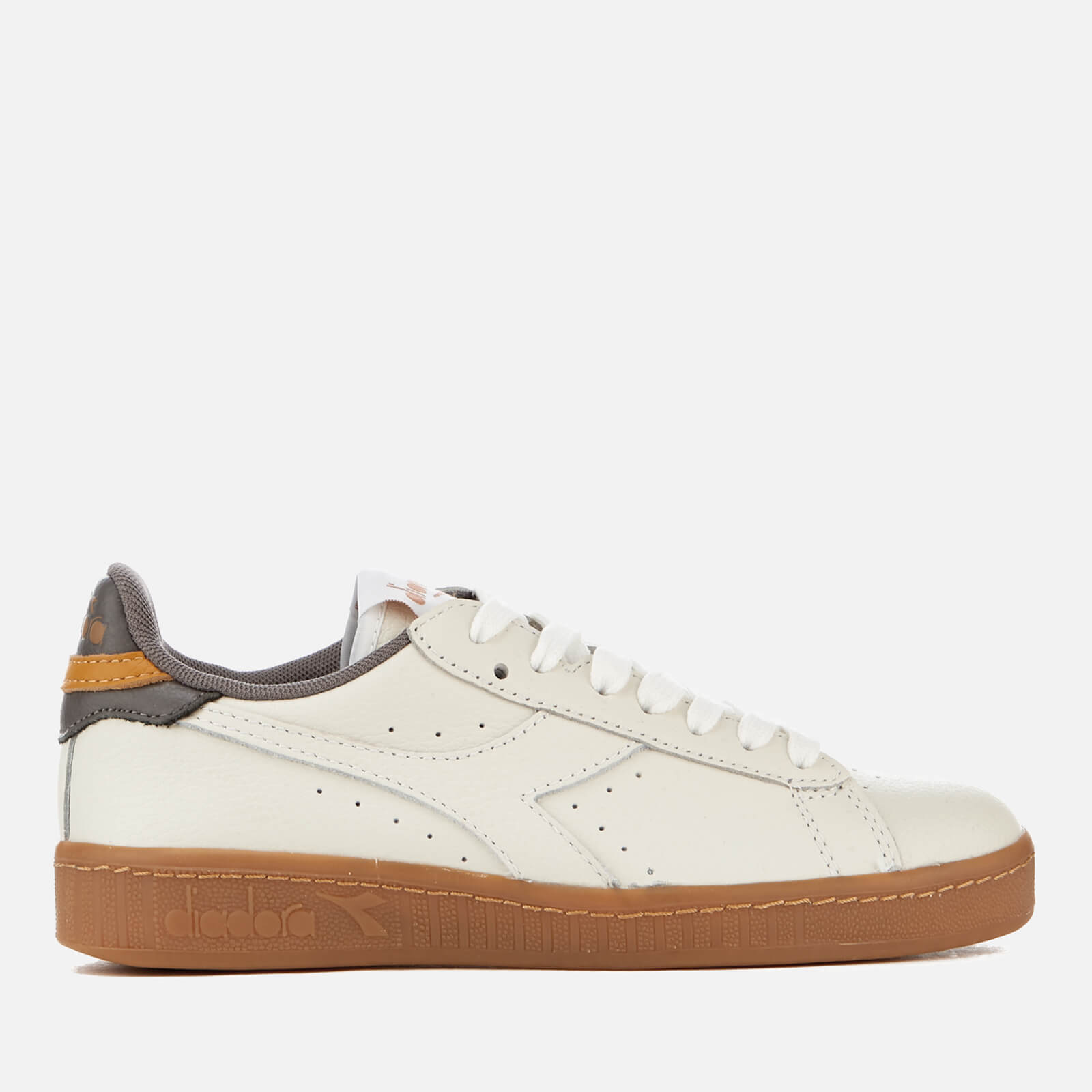 Leather Gum Sole Trainers