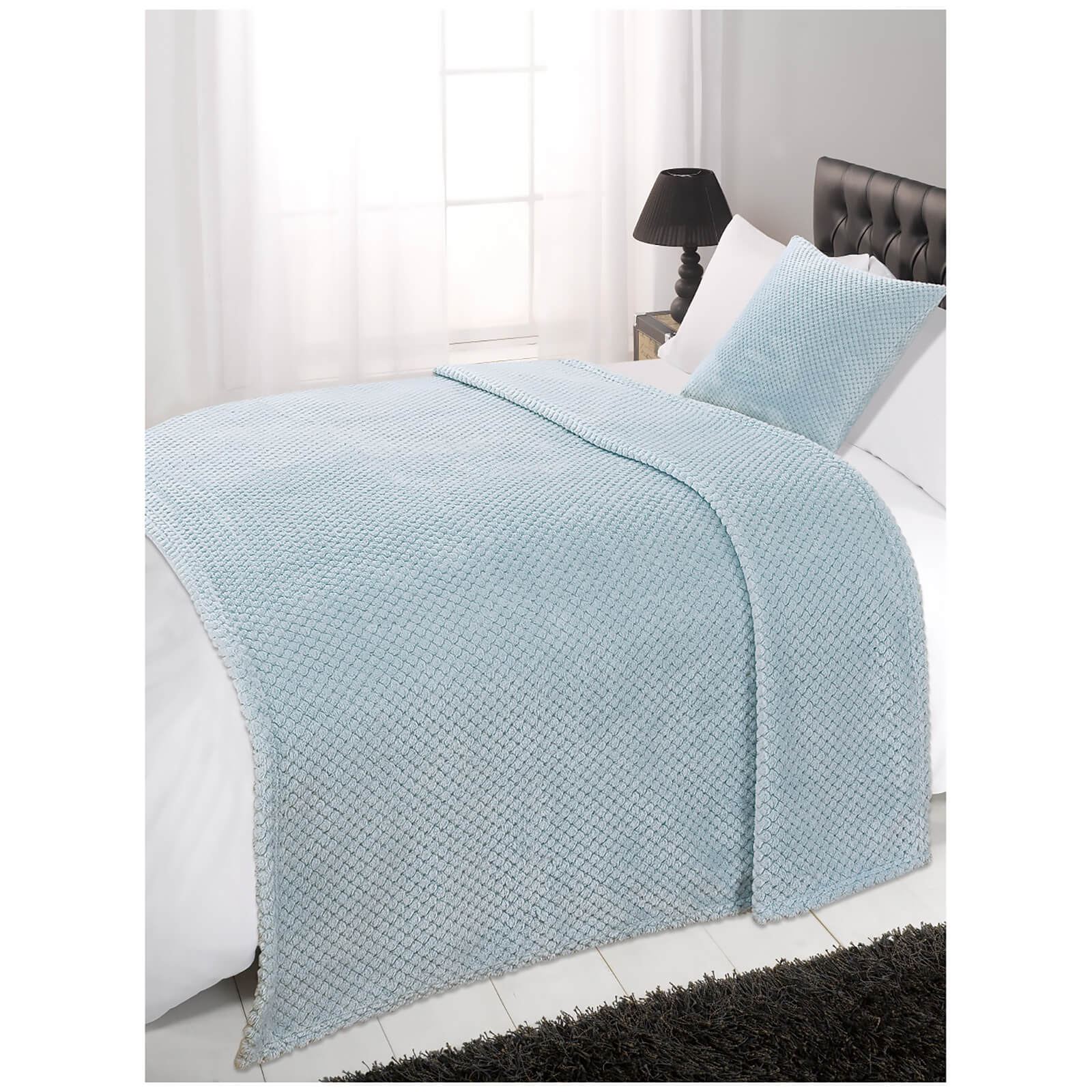 Dreamscene Duck Egg Waffle Throw