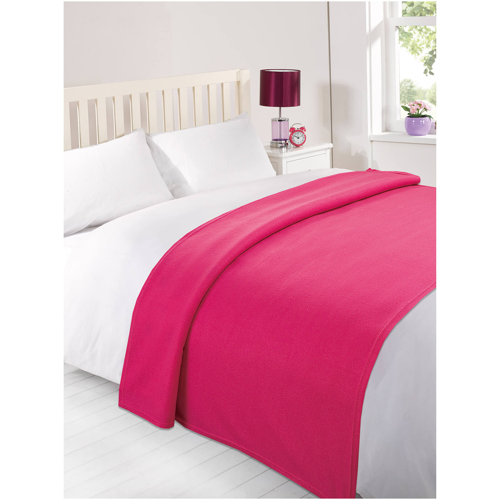 Dreamscene Soft Fleece Throw (120 x 150cm) - Pink