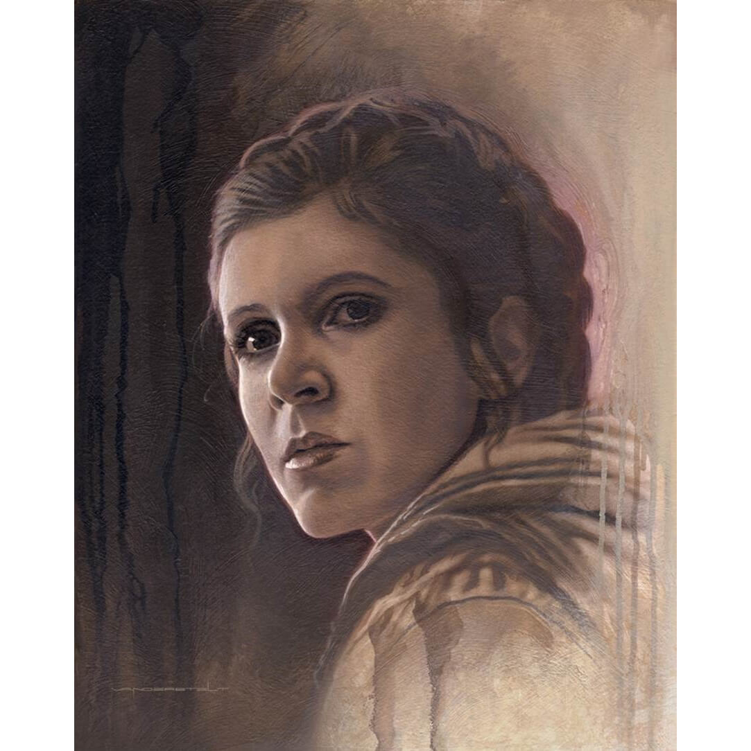 Star Wars Timeless Series: Print #2 - Leia by Acme Archive