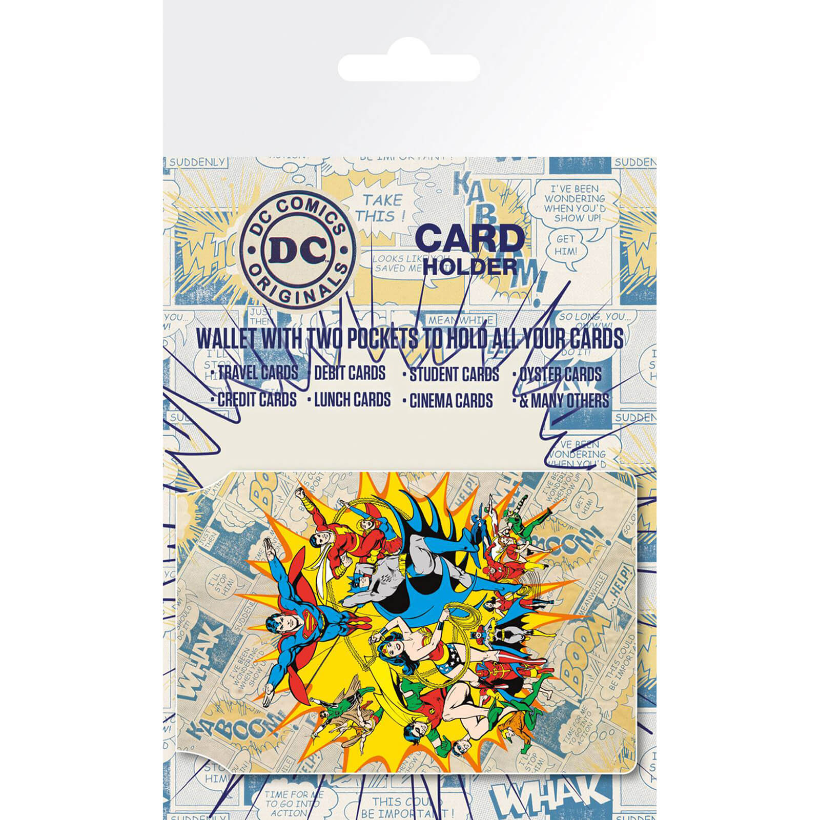DC Comics Heroes Card Holder