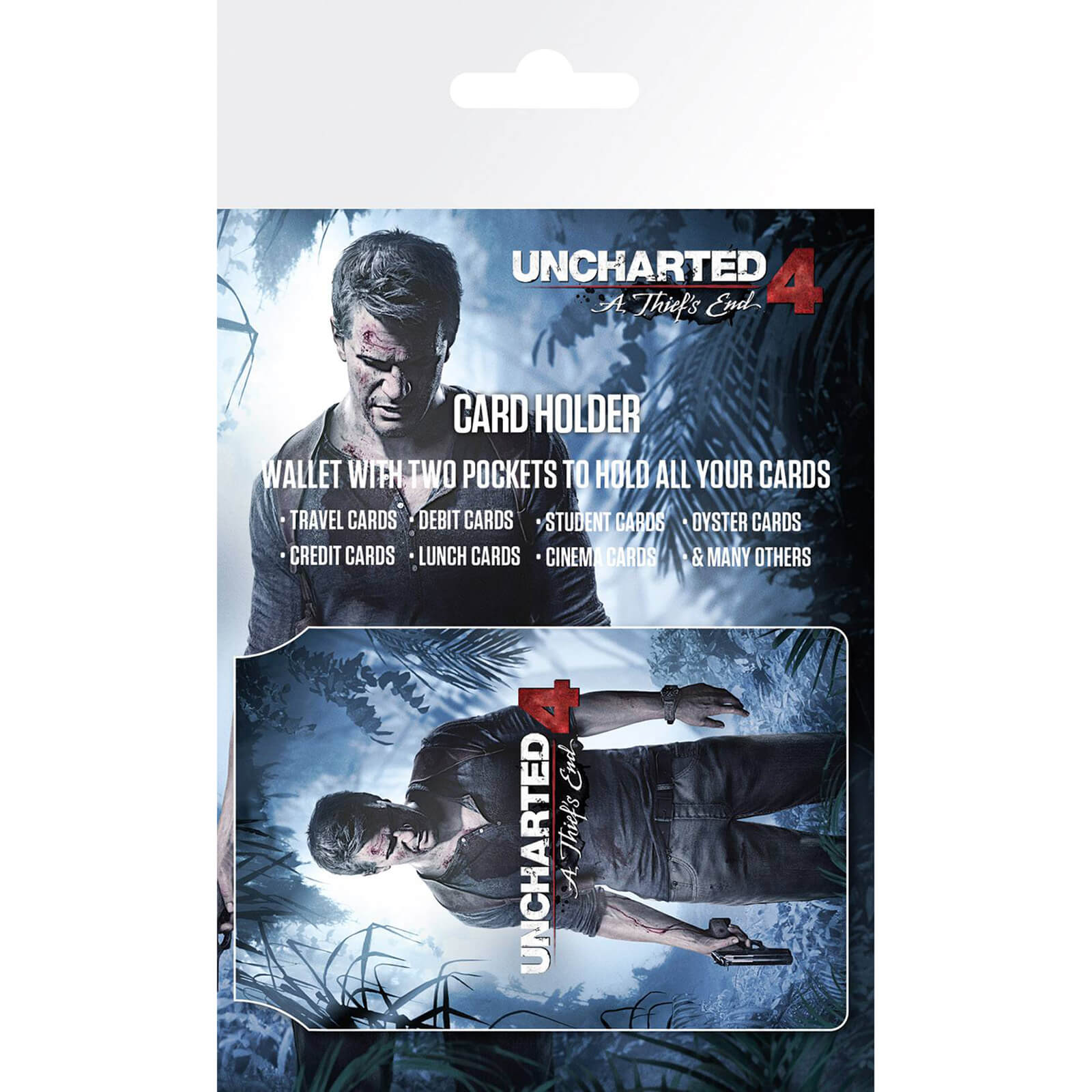 Uncharted 4 Keyart Card Holder