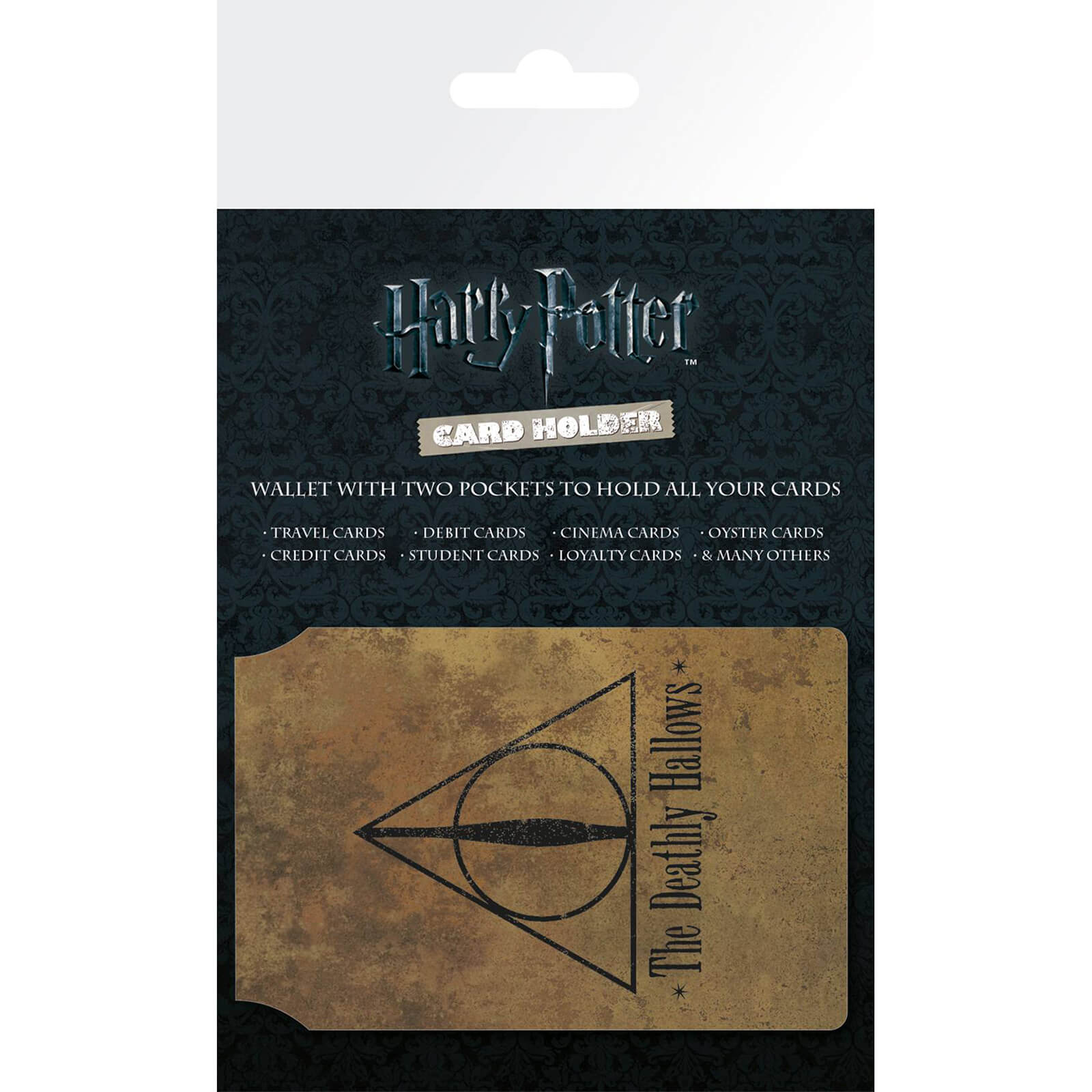 Harry Potter Deathly Hallows Card Holder