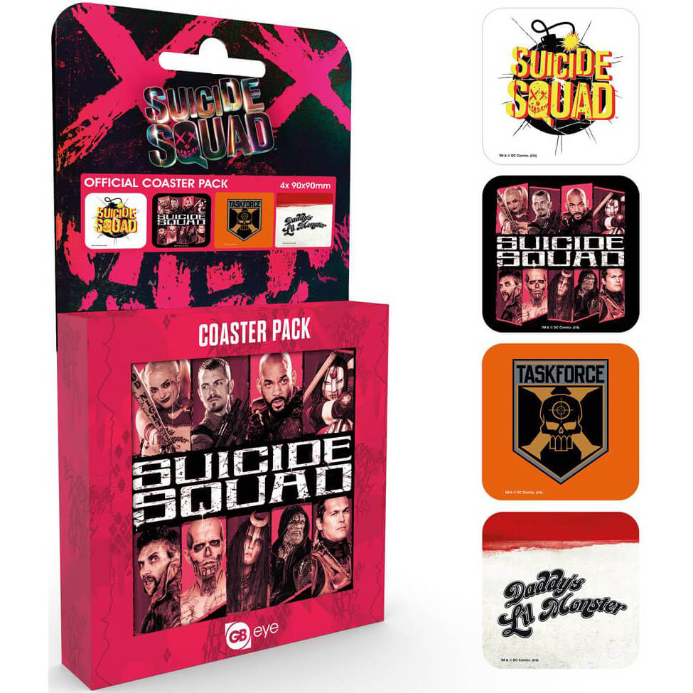 Suicide Squad Mix Coaster Pack