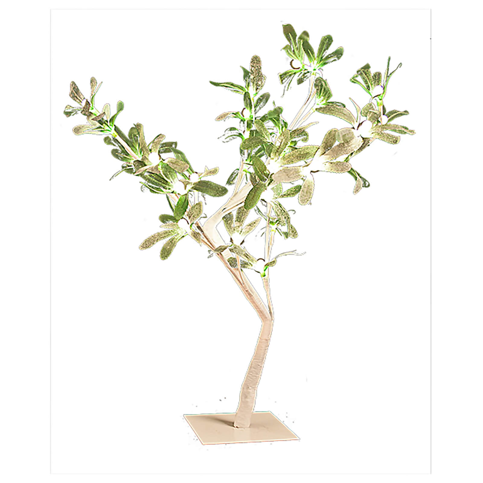Christmas Workshop LED Mistletoe Light Tree 45cm - Warm White