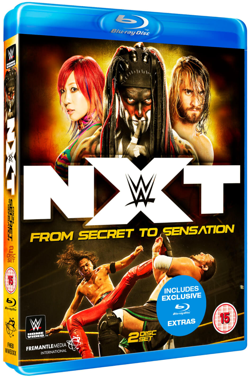 WWE: WWE NXT - From Secret To Sensation