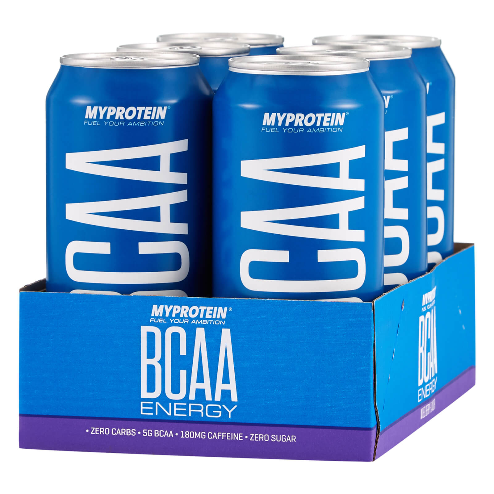 BCAA Drink - Mixed Berries - 6 x 440ml