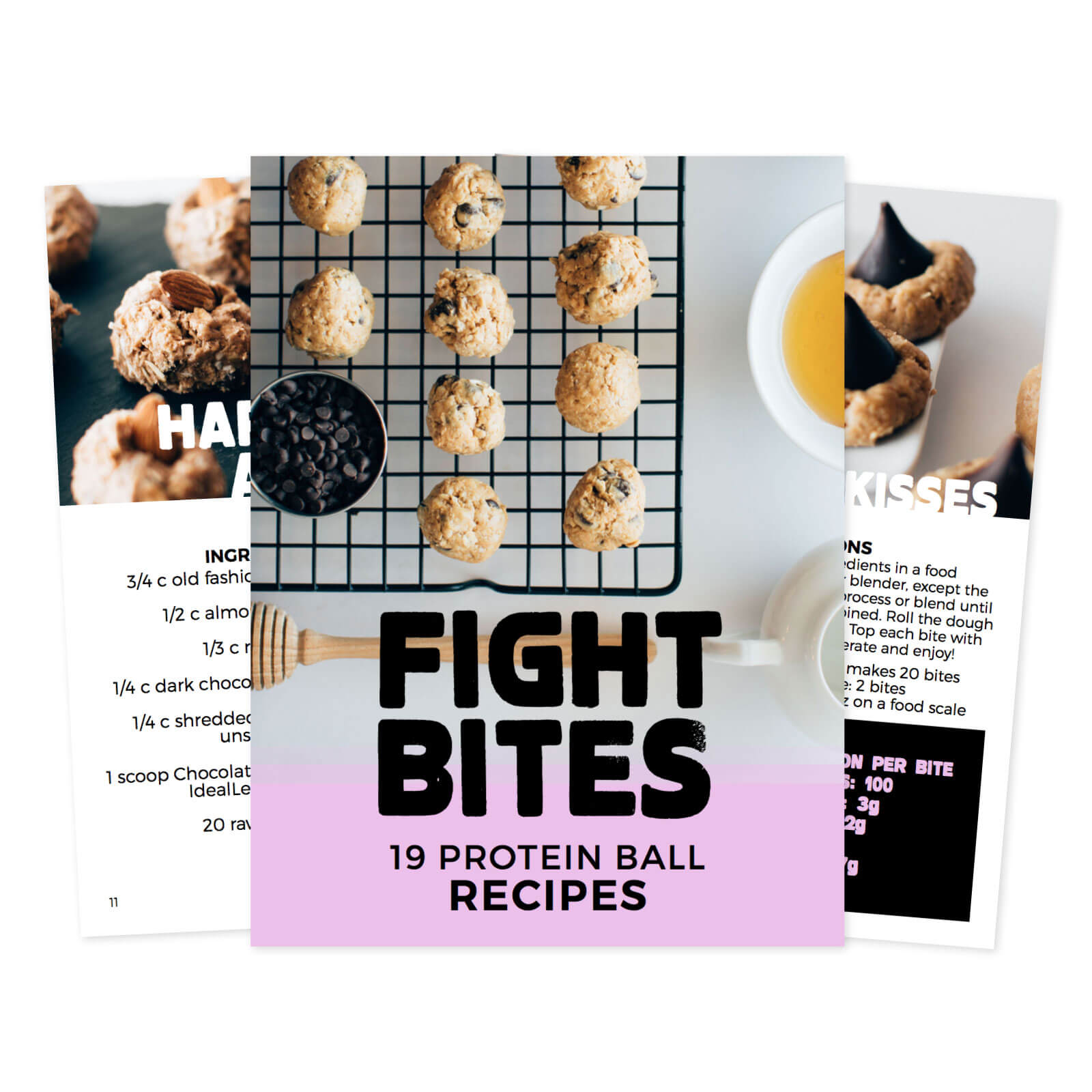 Fight Bites: 19 Protein Ball Recipes eBook