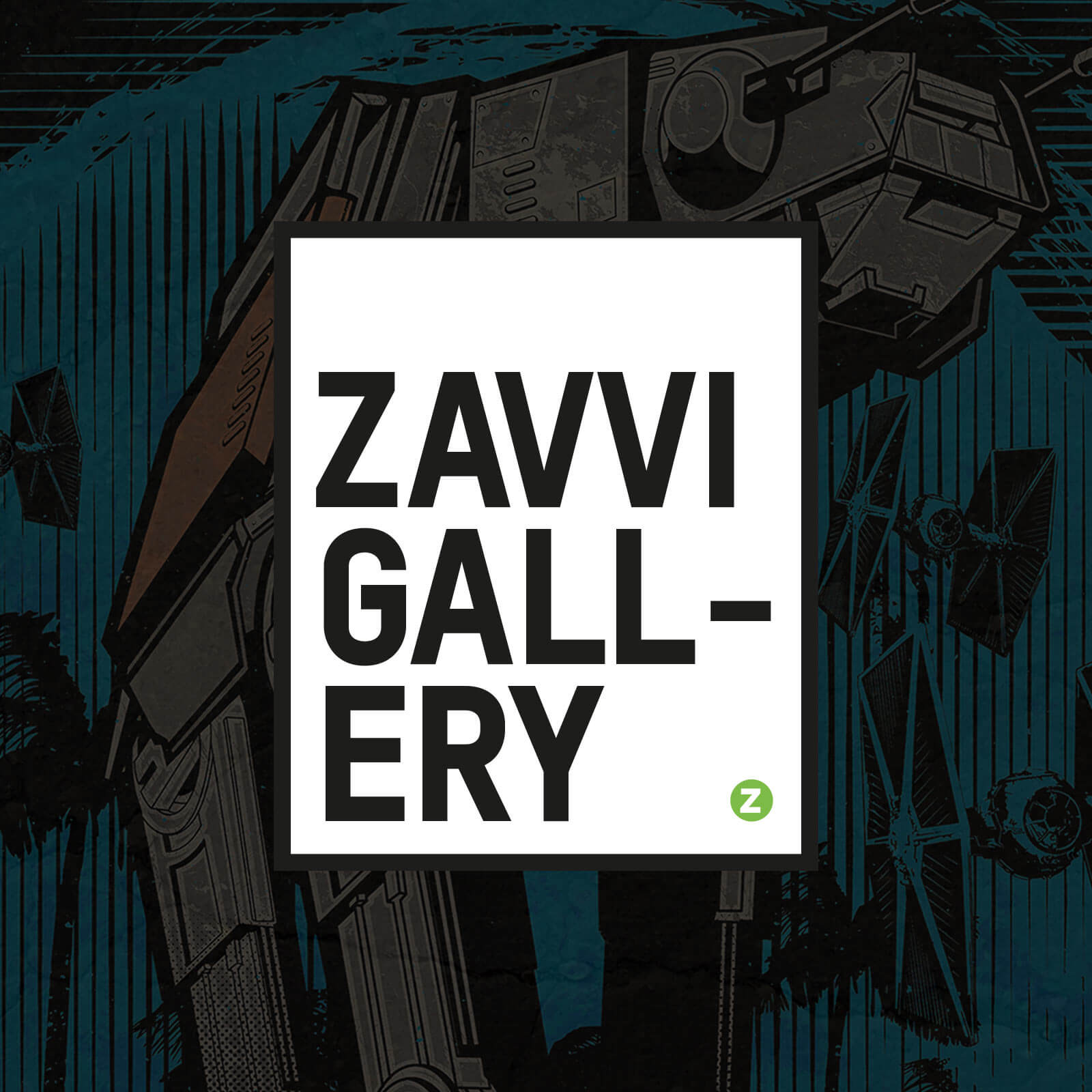 Zavvi Gallery - 3 Mystery Prints By Acme Archive Artists (Timed Sale)