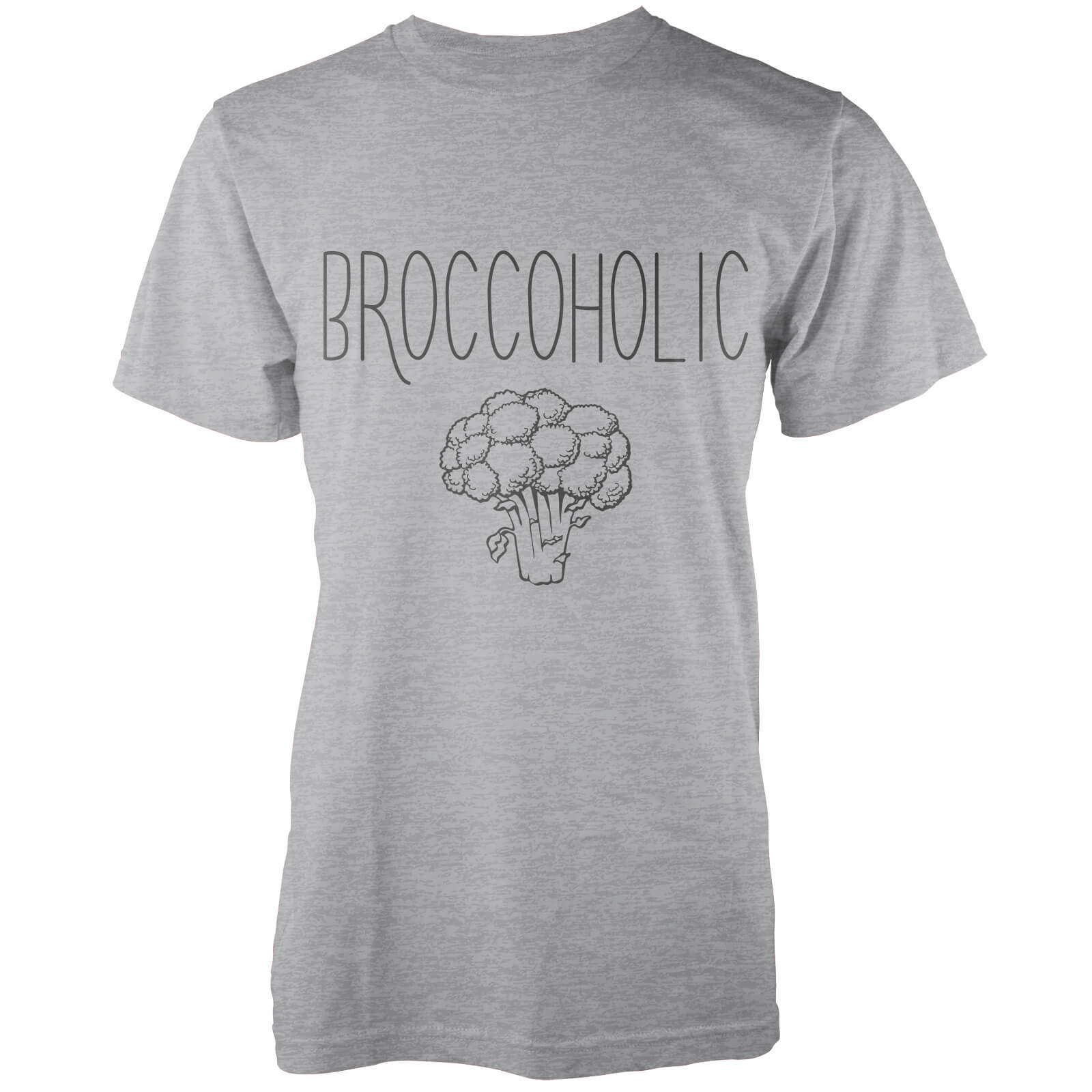Broccoholic T-Shirt - Grey
