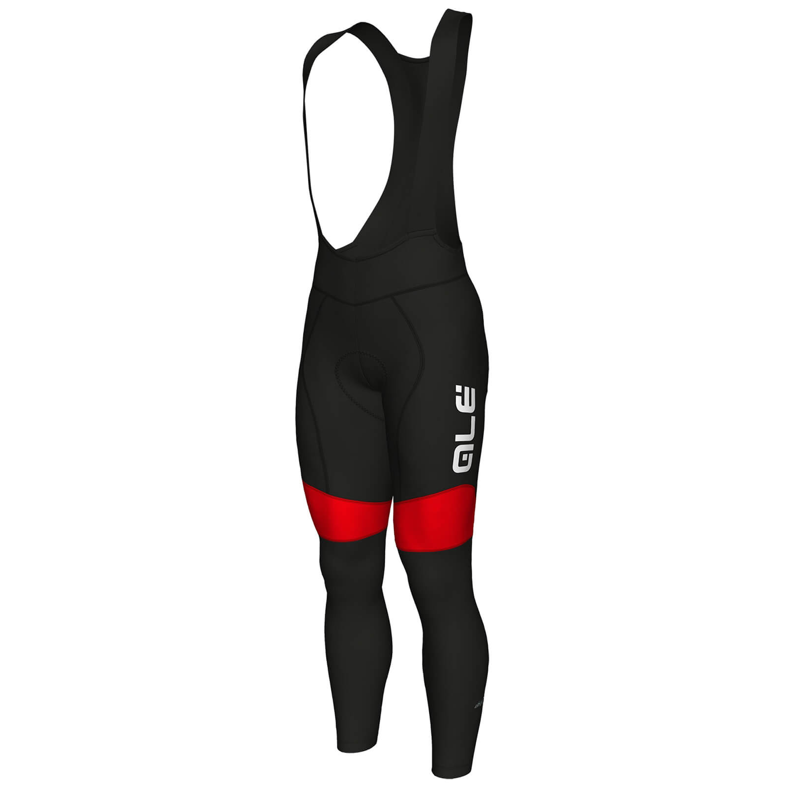 Alé R-EV1 Rumbles Bib Tights - Black/Red