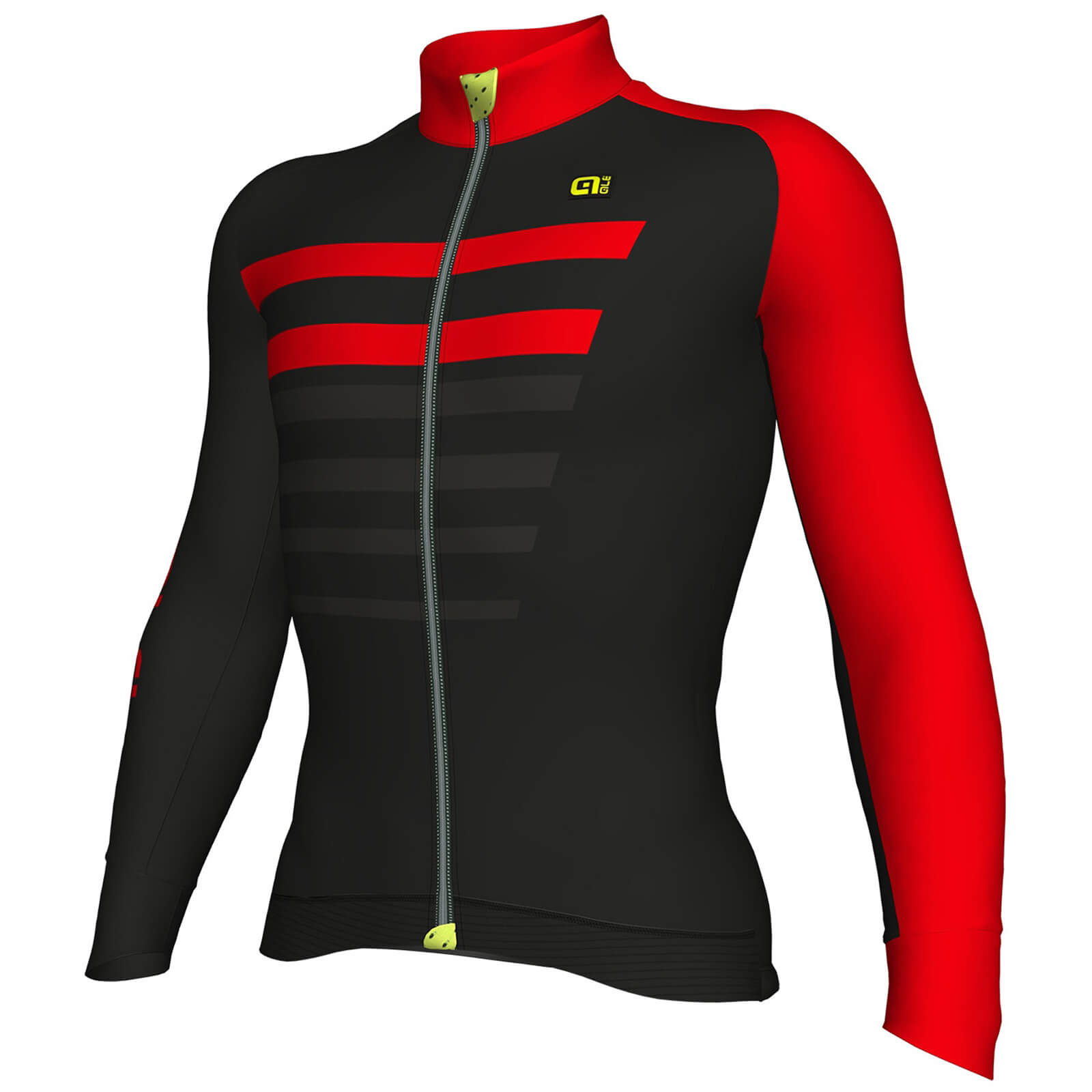 Alé Piuma Jersey - Black/Red