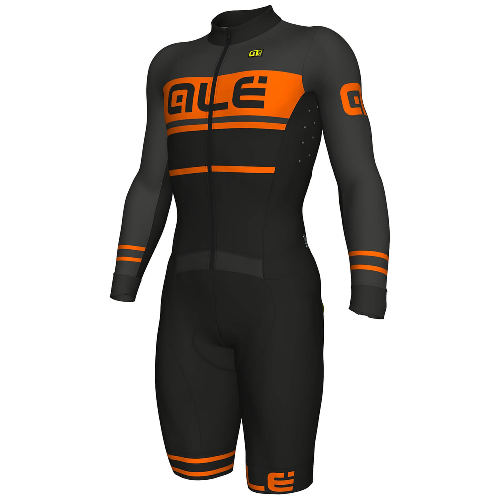 Alé R-EV1 Fango Cyclocross Skinsuit - Black/Orange