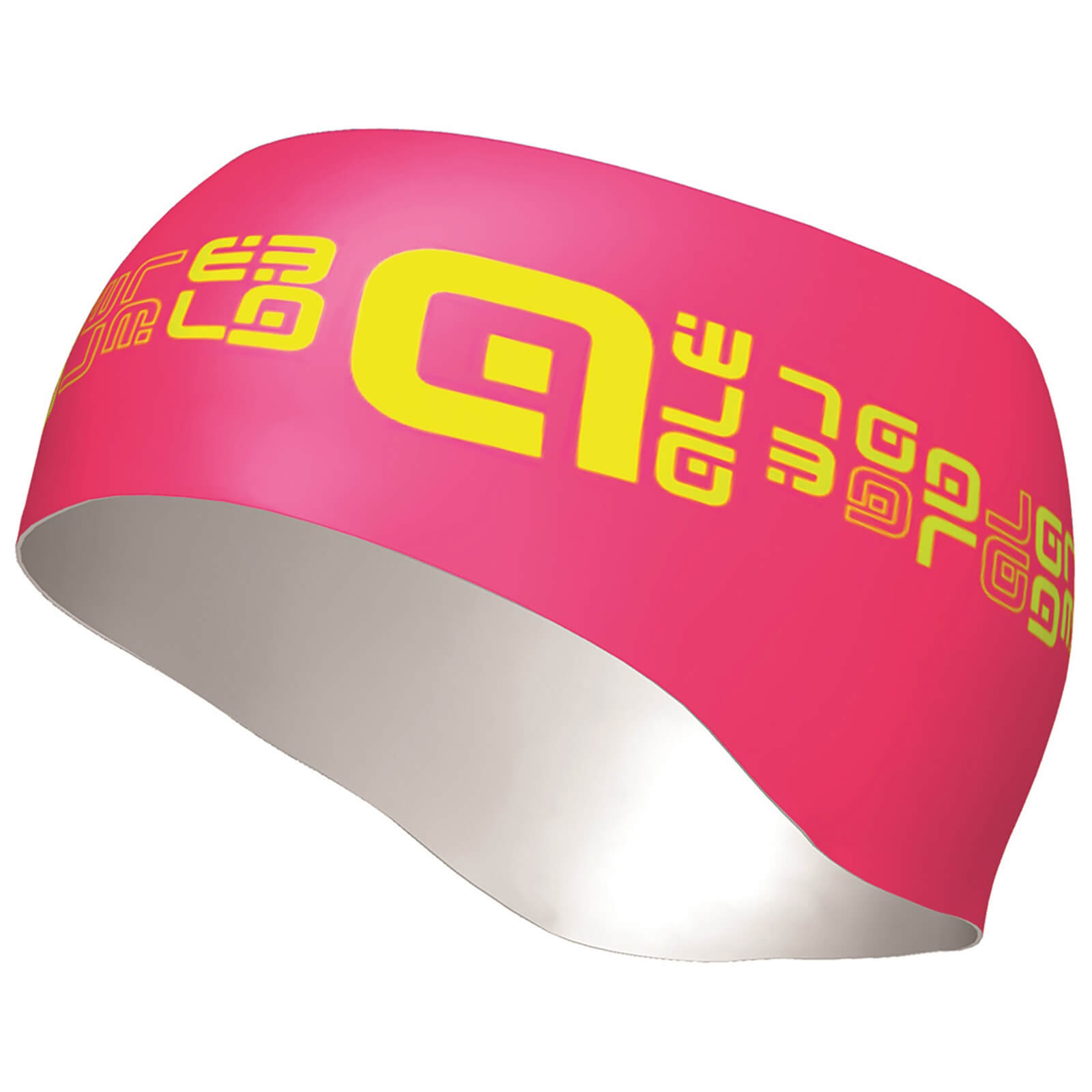 Alé Router Headband - Pink/Yellow