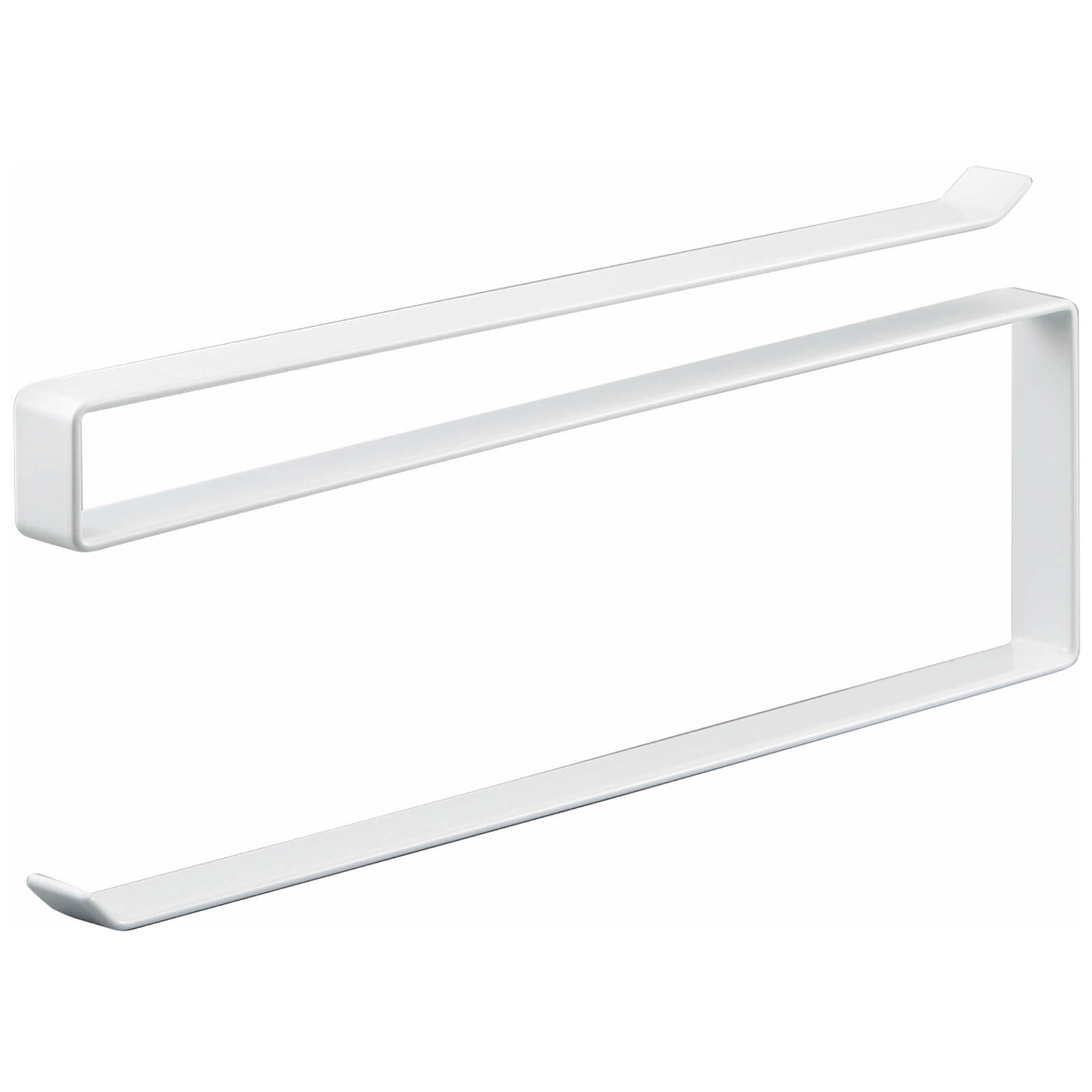 Yamazaki Tower Under Shelf Kitchen Paper Holder - White