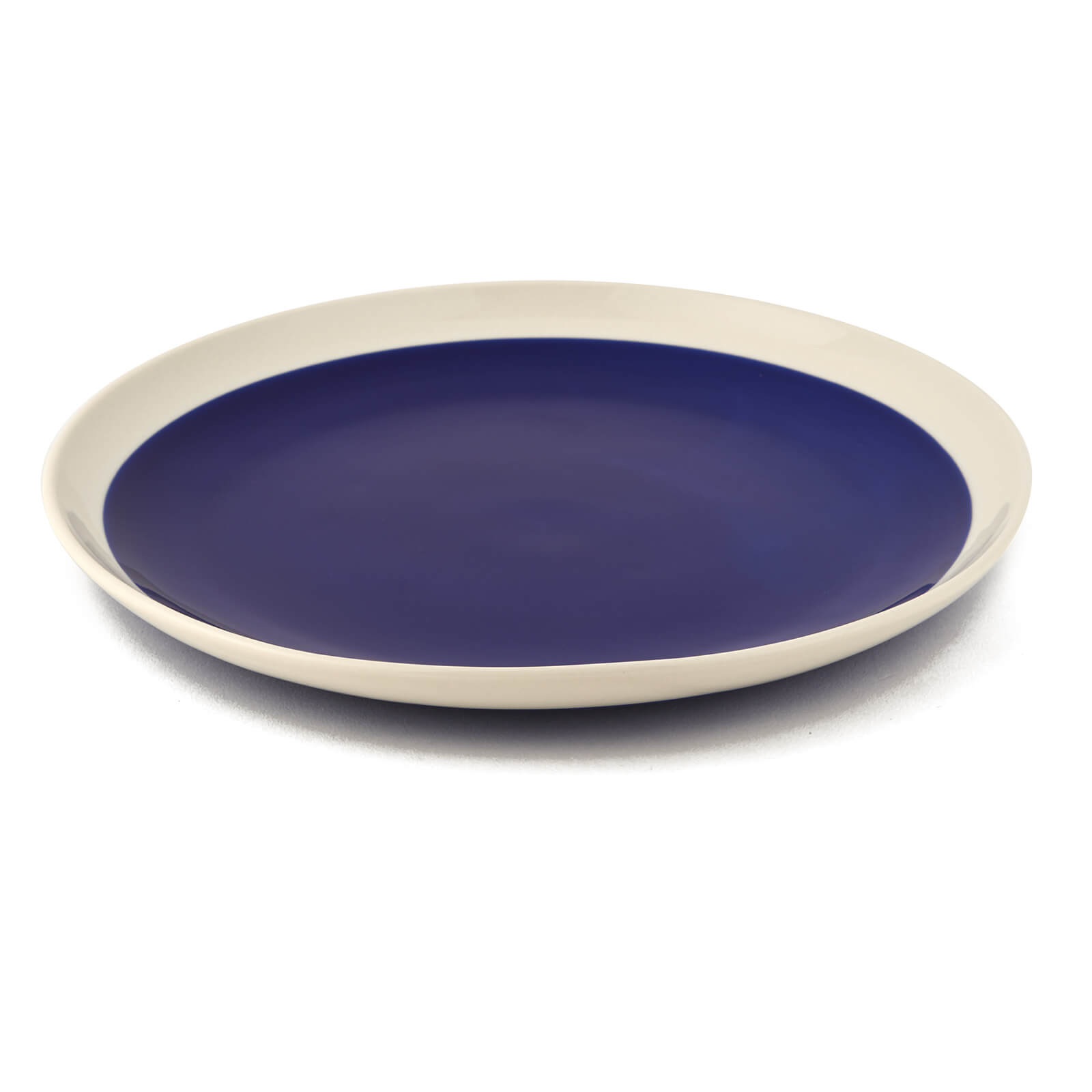 Nkuku Datia Dinner Plate - Navy