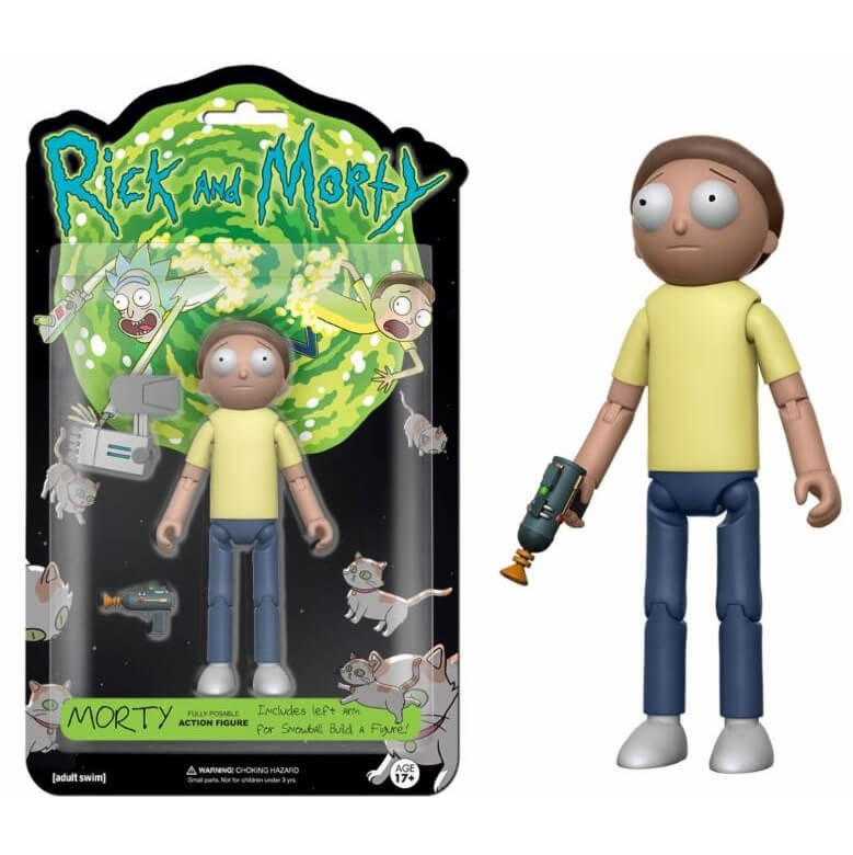 Articulated Action Figure: Rick and Morty - Morty