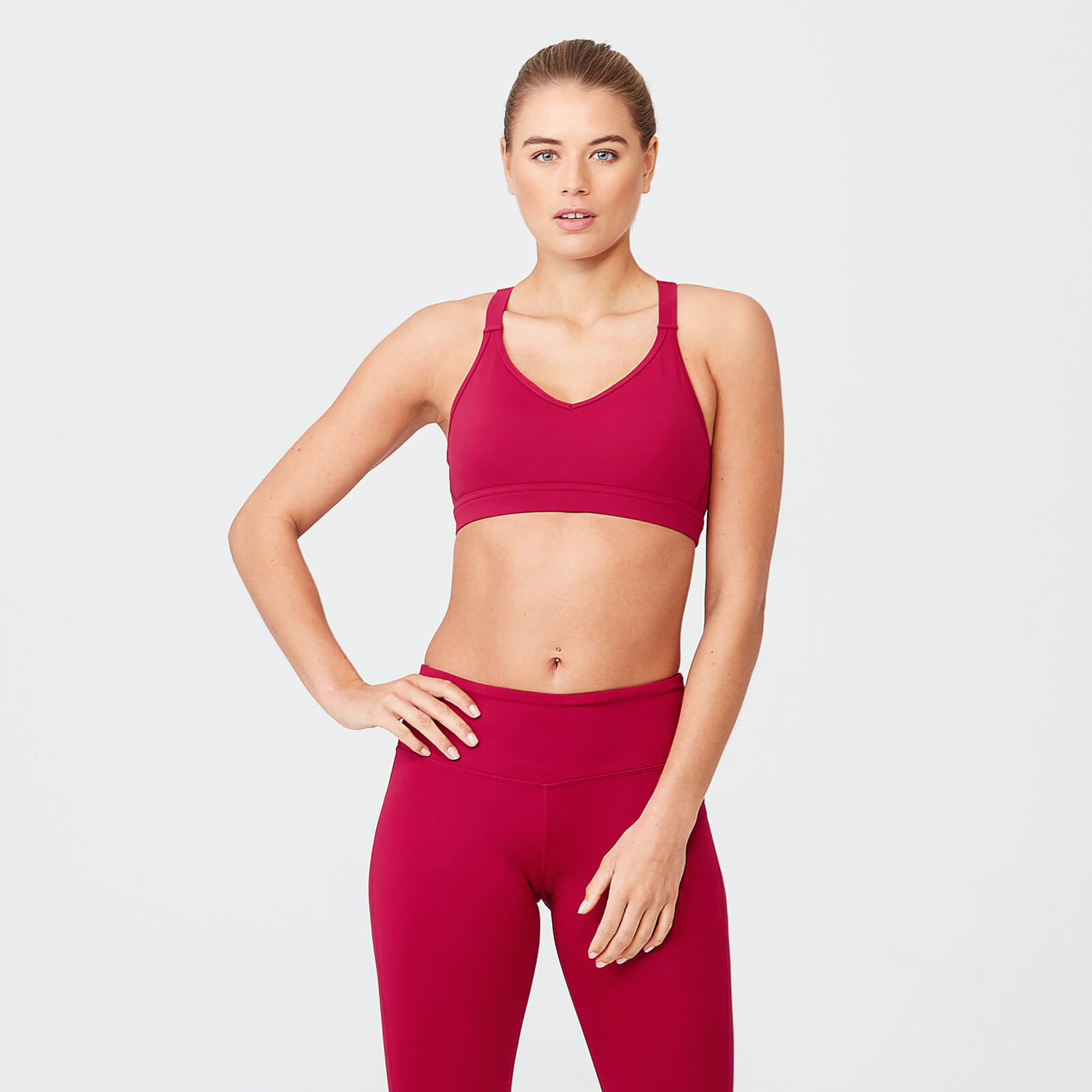 Myprotein Classic Heartbeat Sports Bra - Red - XS