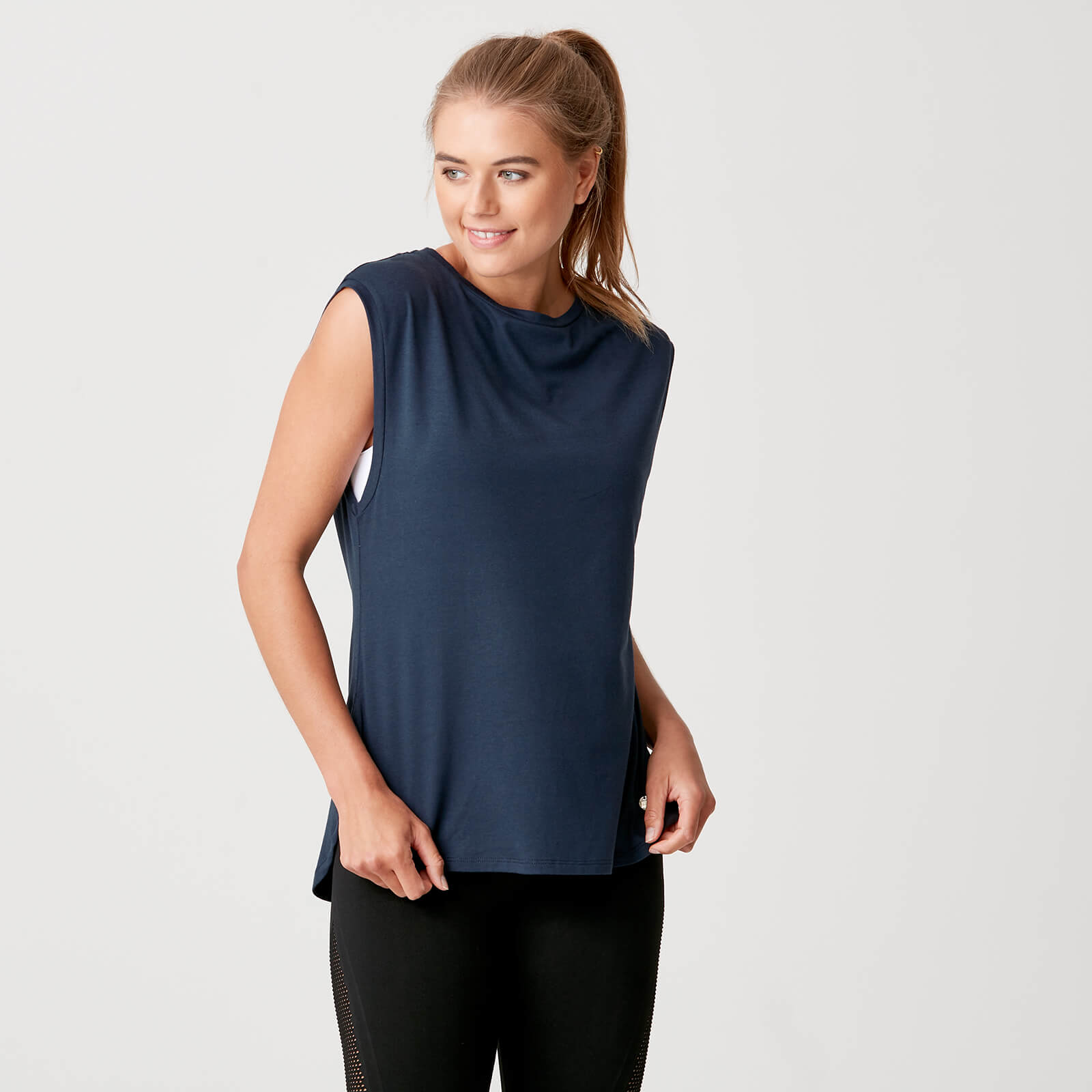 Luxe Touch Vest - Navy - XS