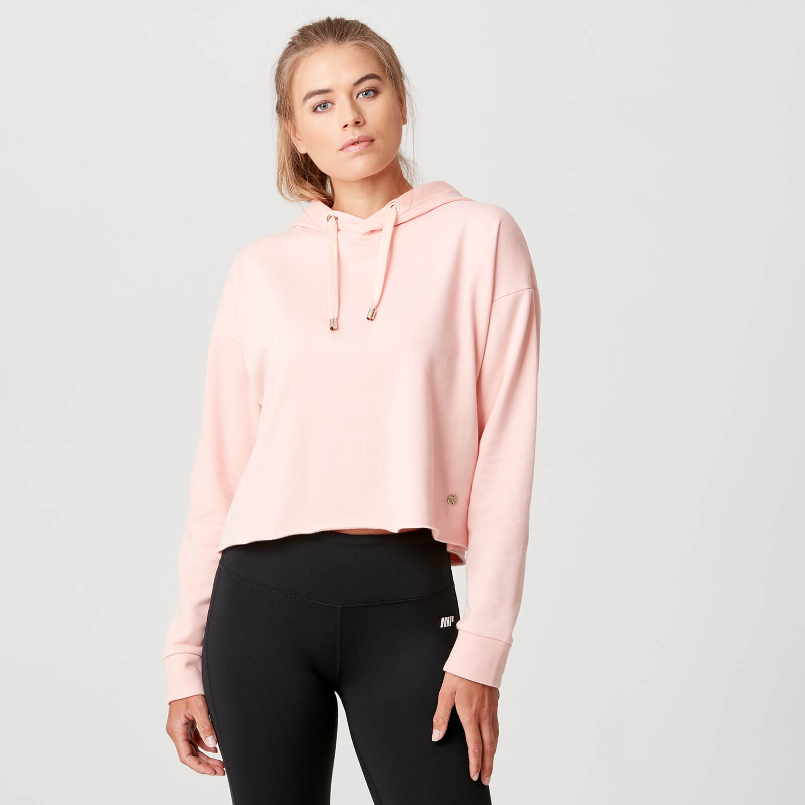 Luxe Lounge Hoodie - Blush - XS