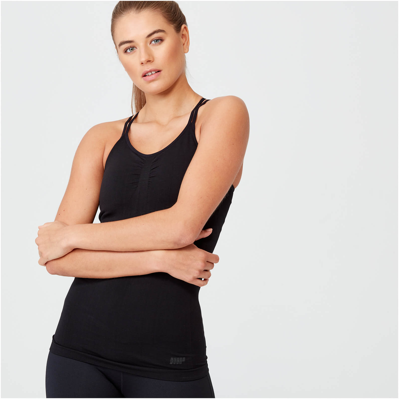 Shape Seamless Vest - Black - XS