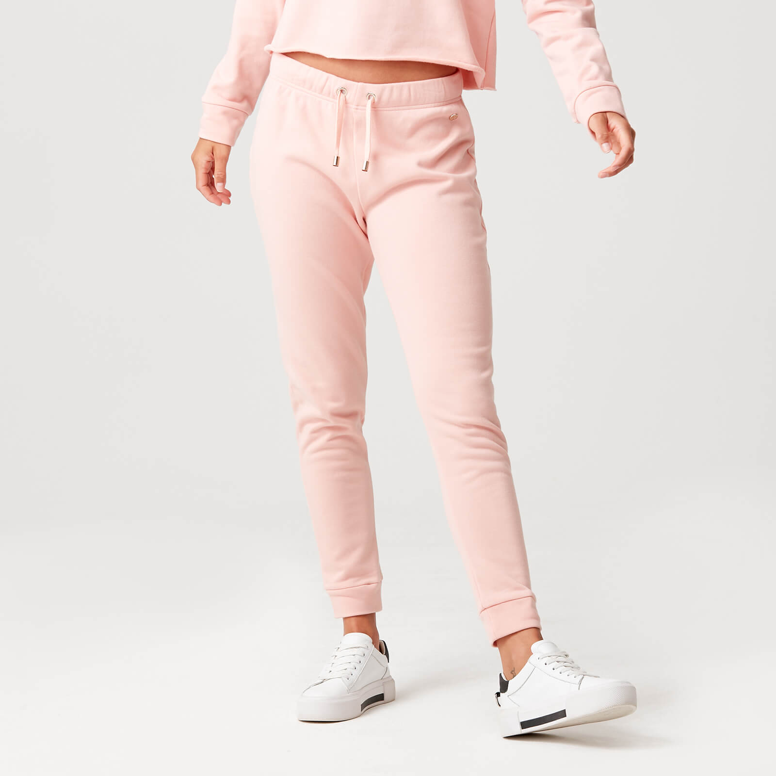 Luxe Lounge Joggers - Blush - XS