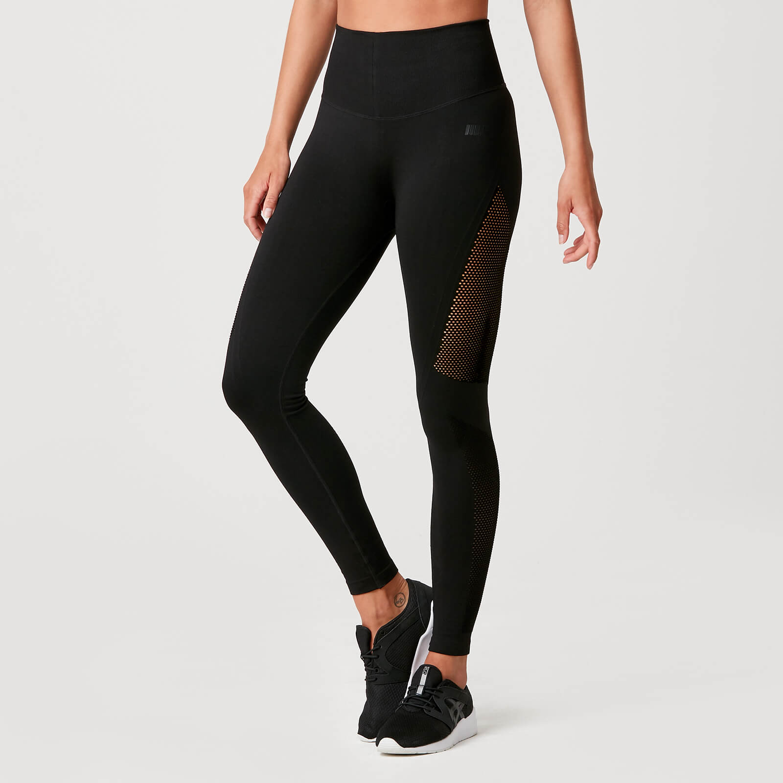 Luxe Seamless Leggings - Black - S