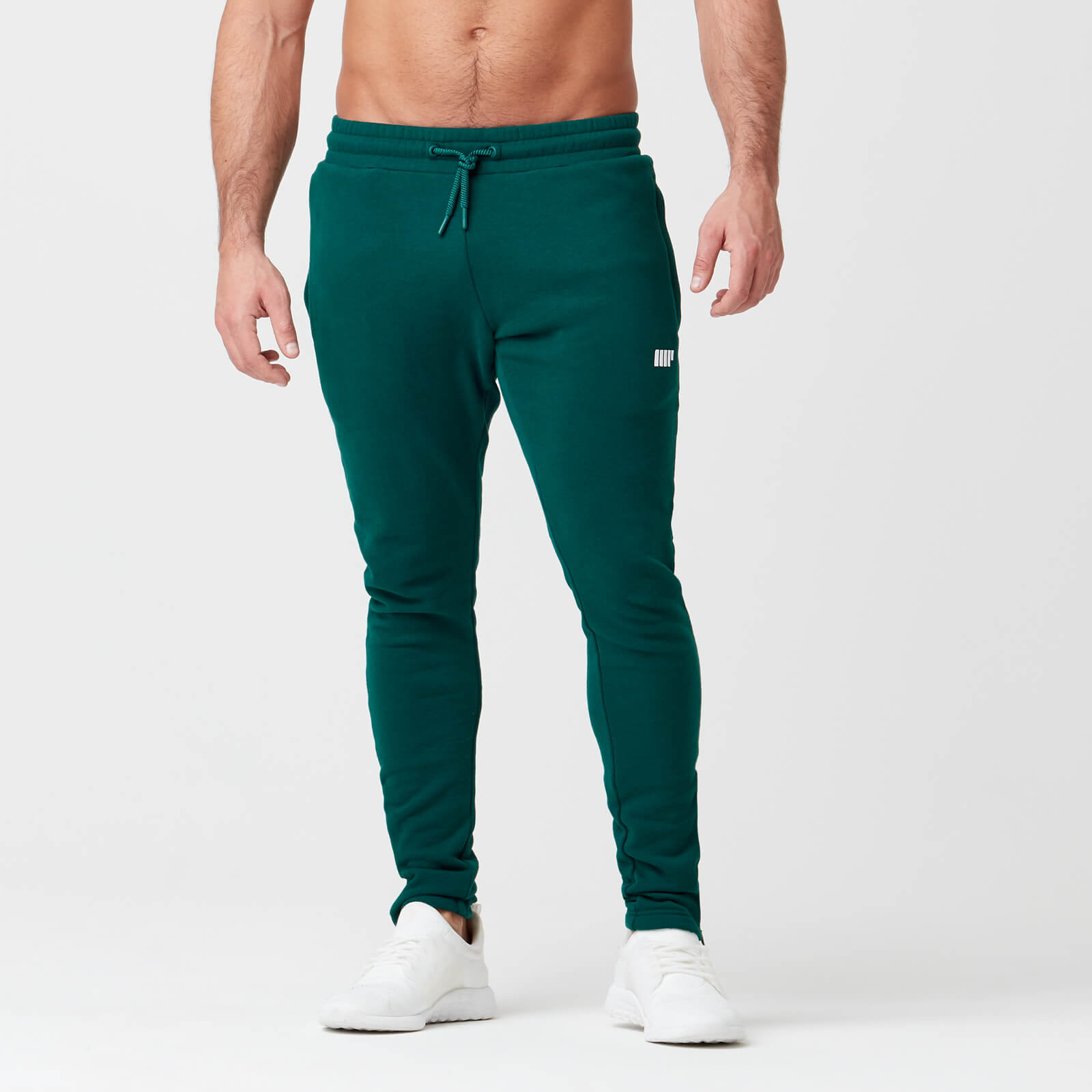 Myprotein Tru-Fit Zip Joggers - Dark Green - XS