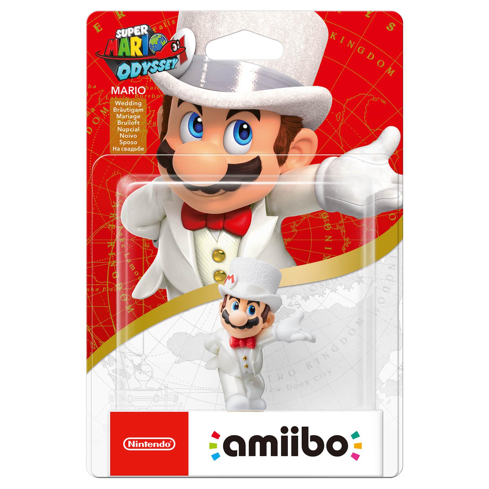 mario (wedding outfit) amiibo (super mario collection)