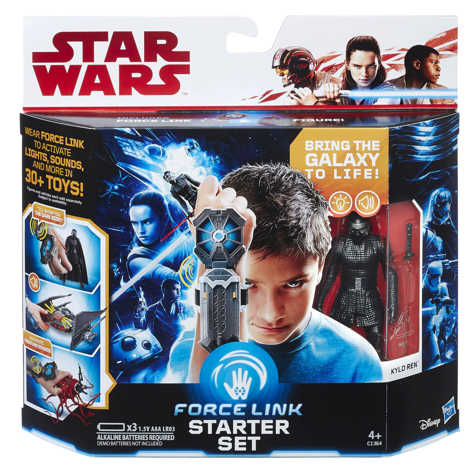Hasbro Star Wars Episode 8: Force Link Starter Set